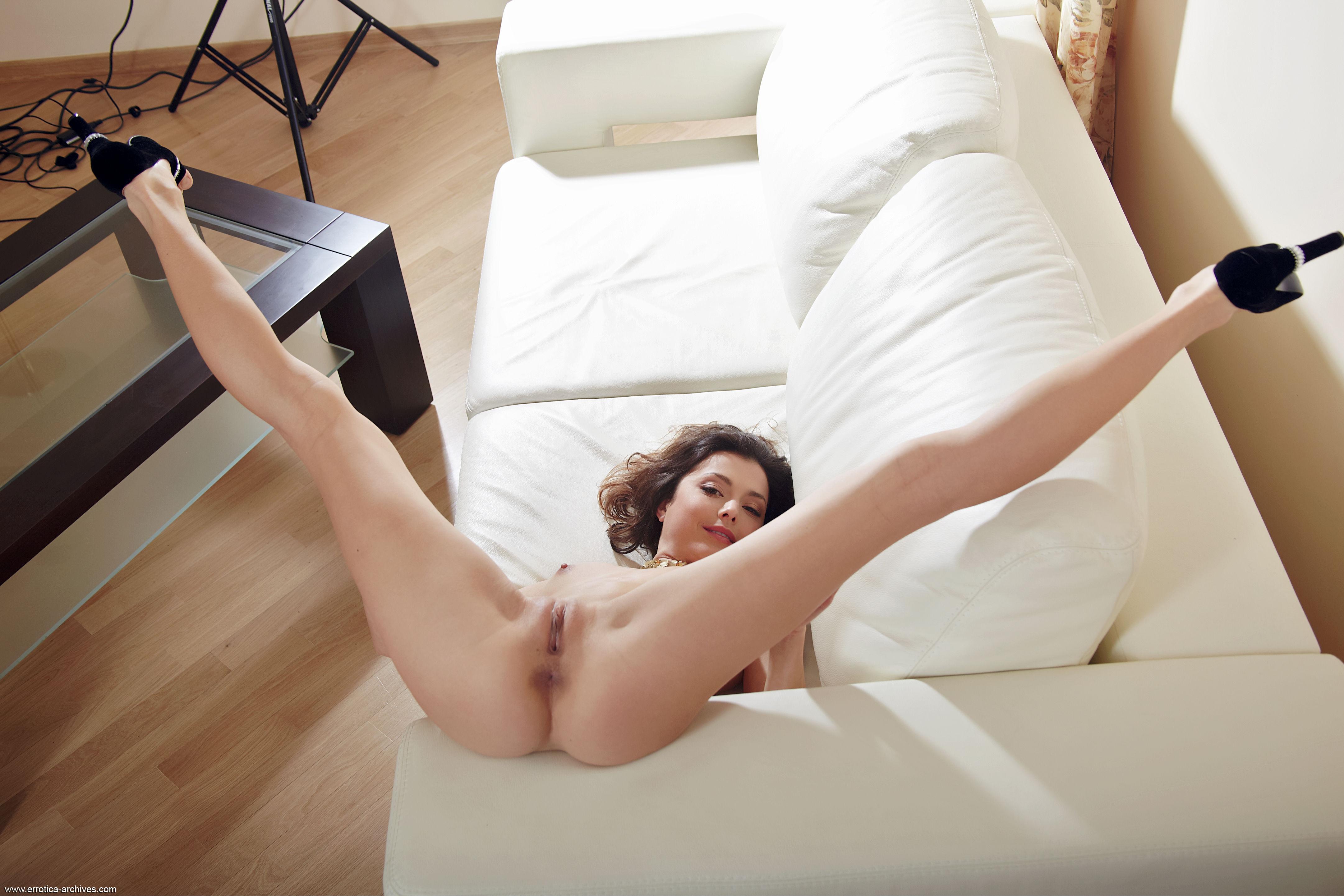 Woman spread eagle nude closeup sex nude