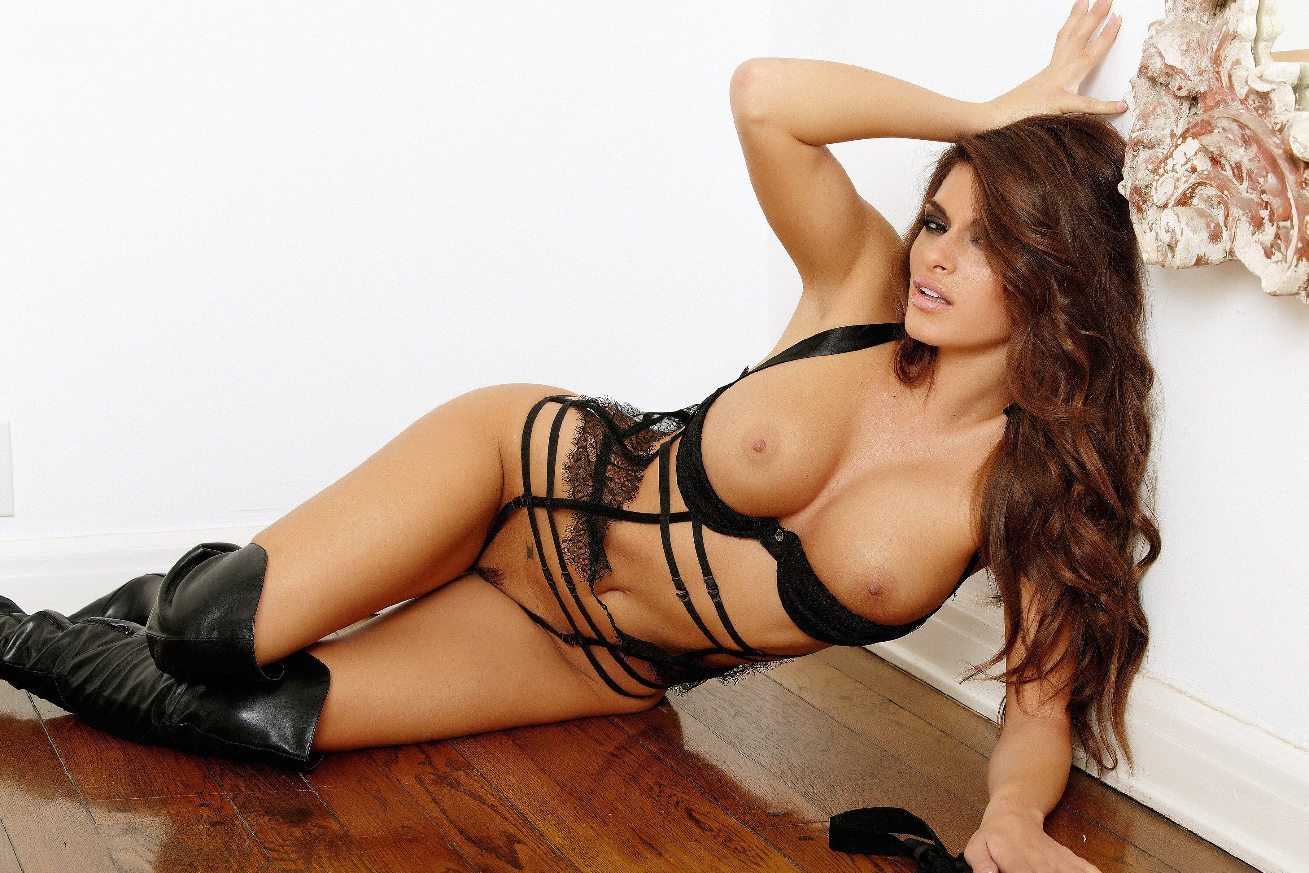 Amazing big black tits-1848