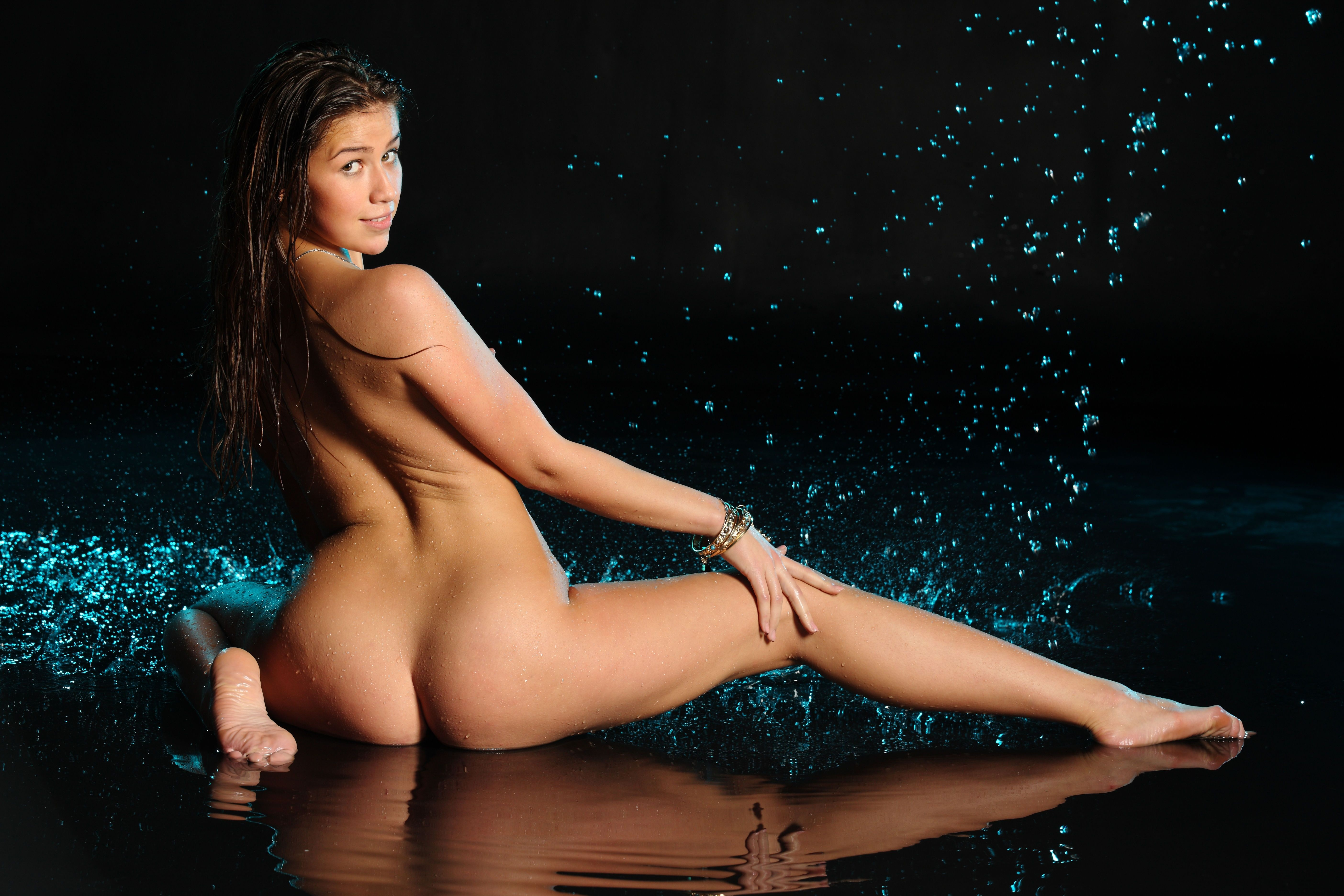Wallpaper Foxy Salt, Brunette, Sexy Girl, Adult Model -4083