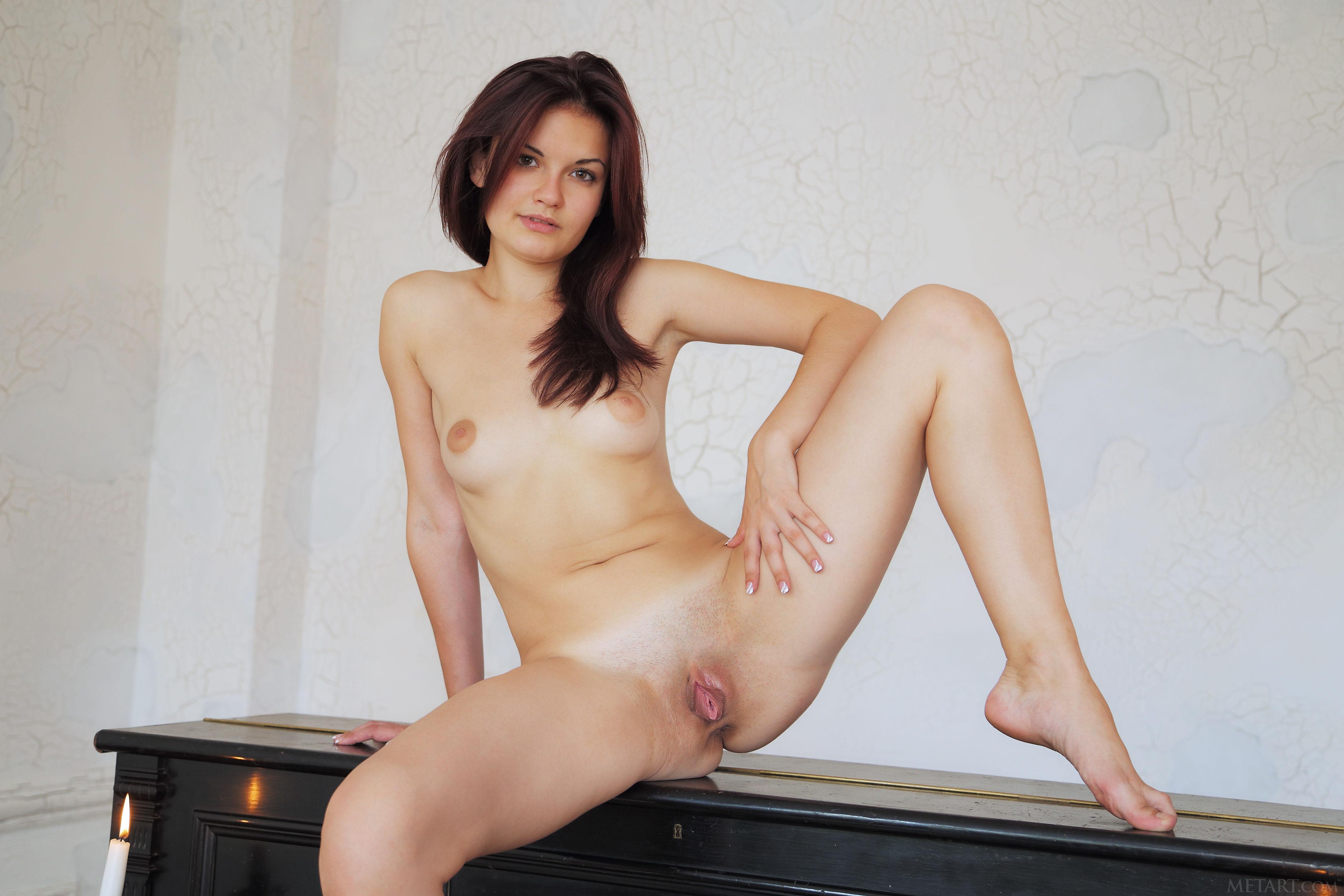 Wallpaper Dulcia, Brown Hair, Hi-Q, Small Breasts, Large -9548
