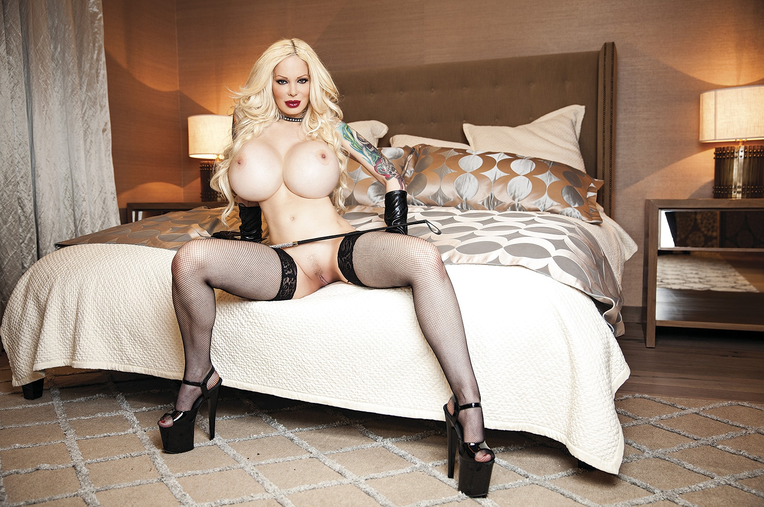 Phrase Busty blonde black stockings and high heels can
