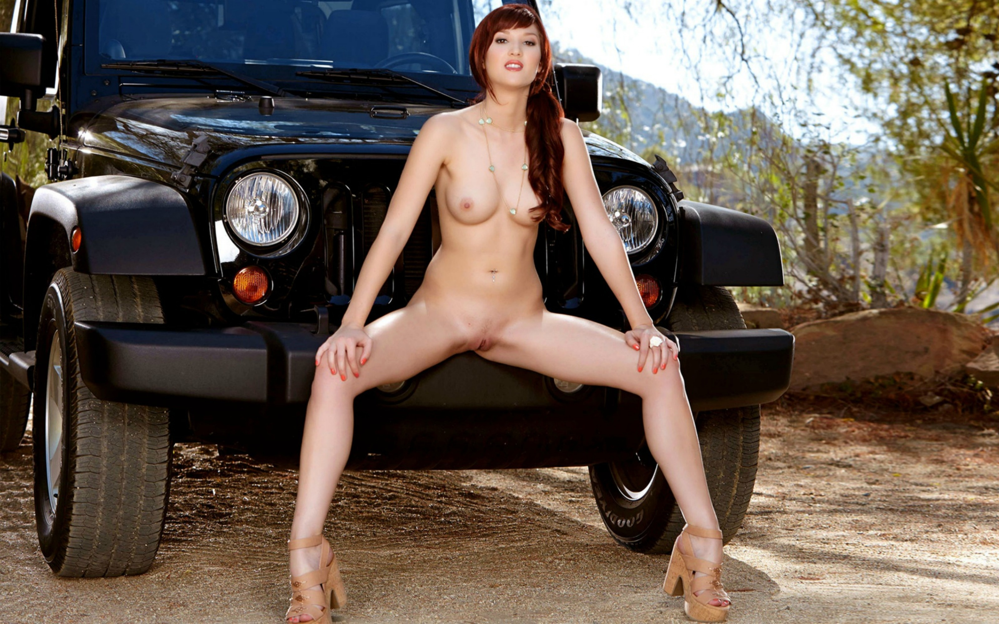 Valuable Jeeps and nude babes have