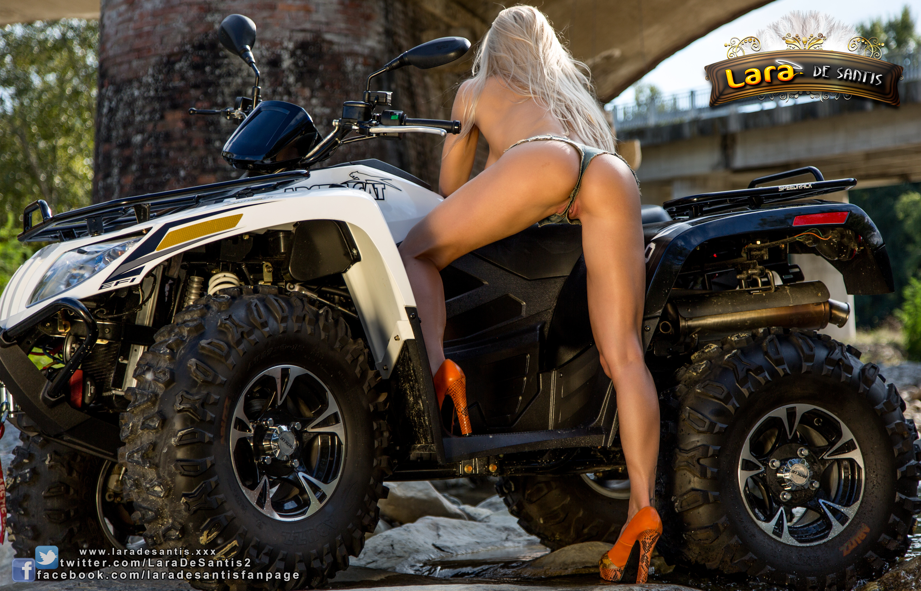 nude girls in atv
