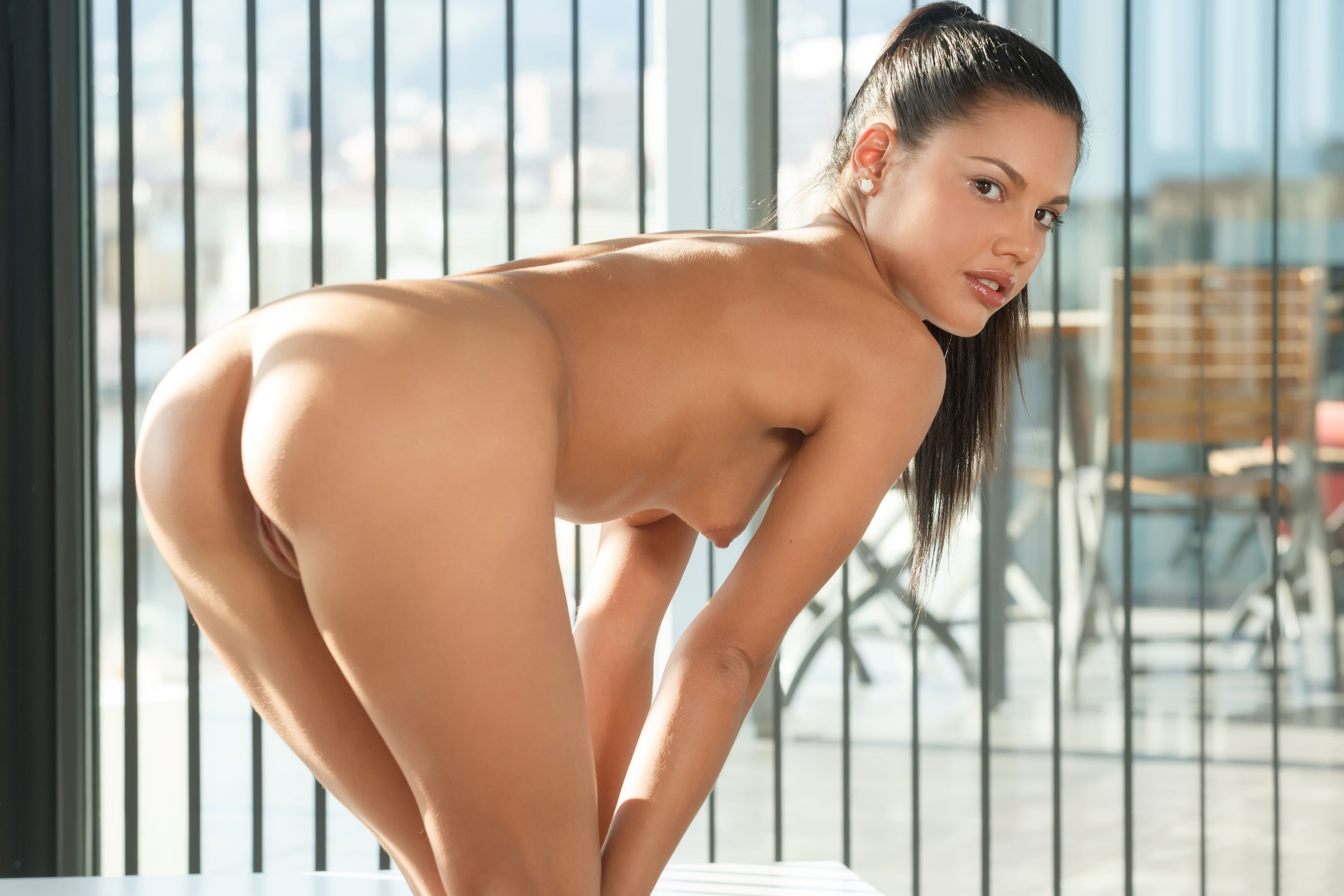 wallpaper apolonia, brunette, sexy girl, adult model, nude, naked