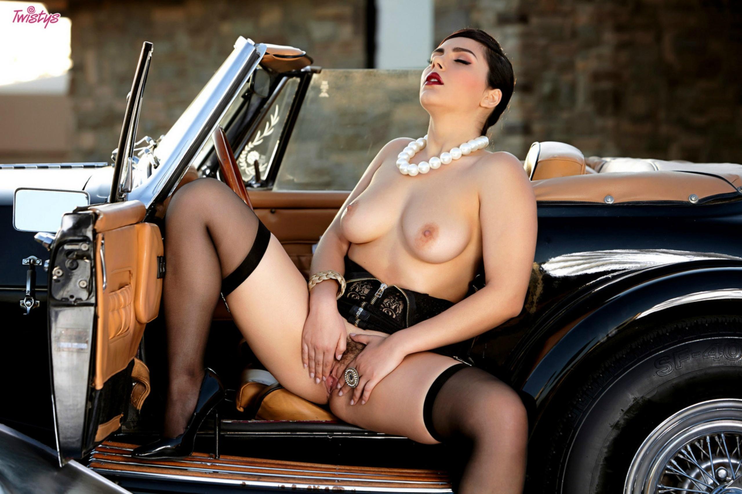 Wallpaper Valentina Nappi, Pussy, Tits, Stockings, Classic -2908