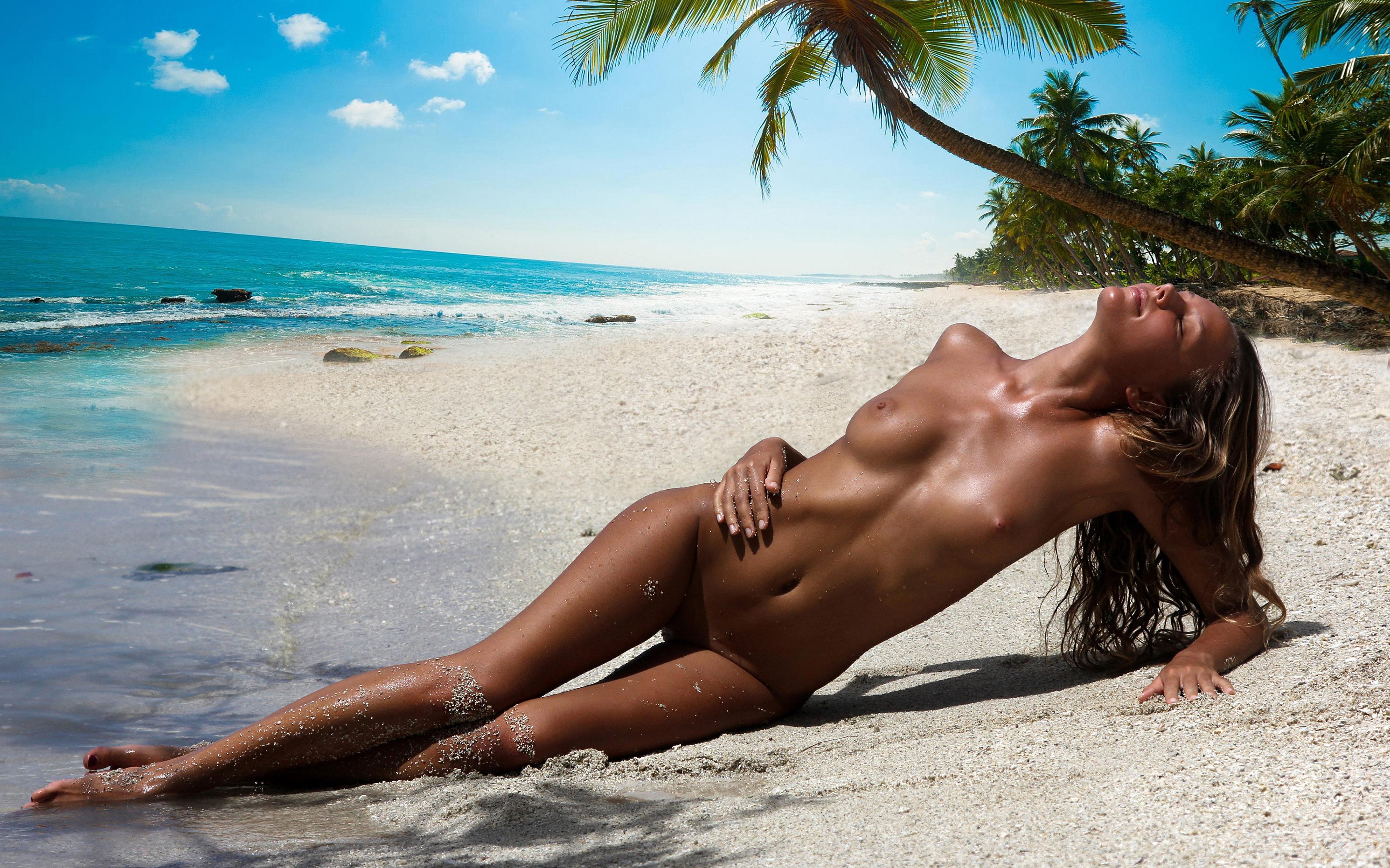 Beach nude teaser