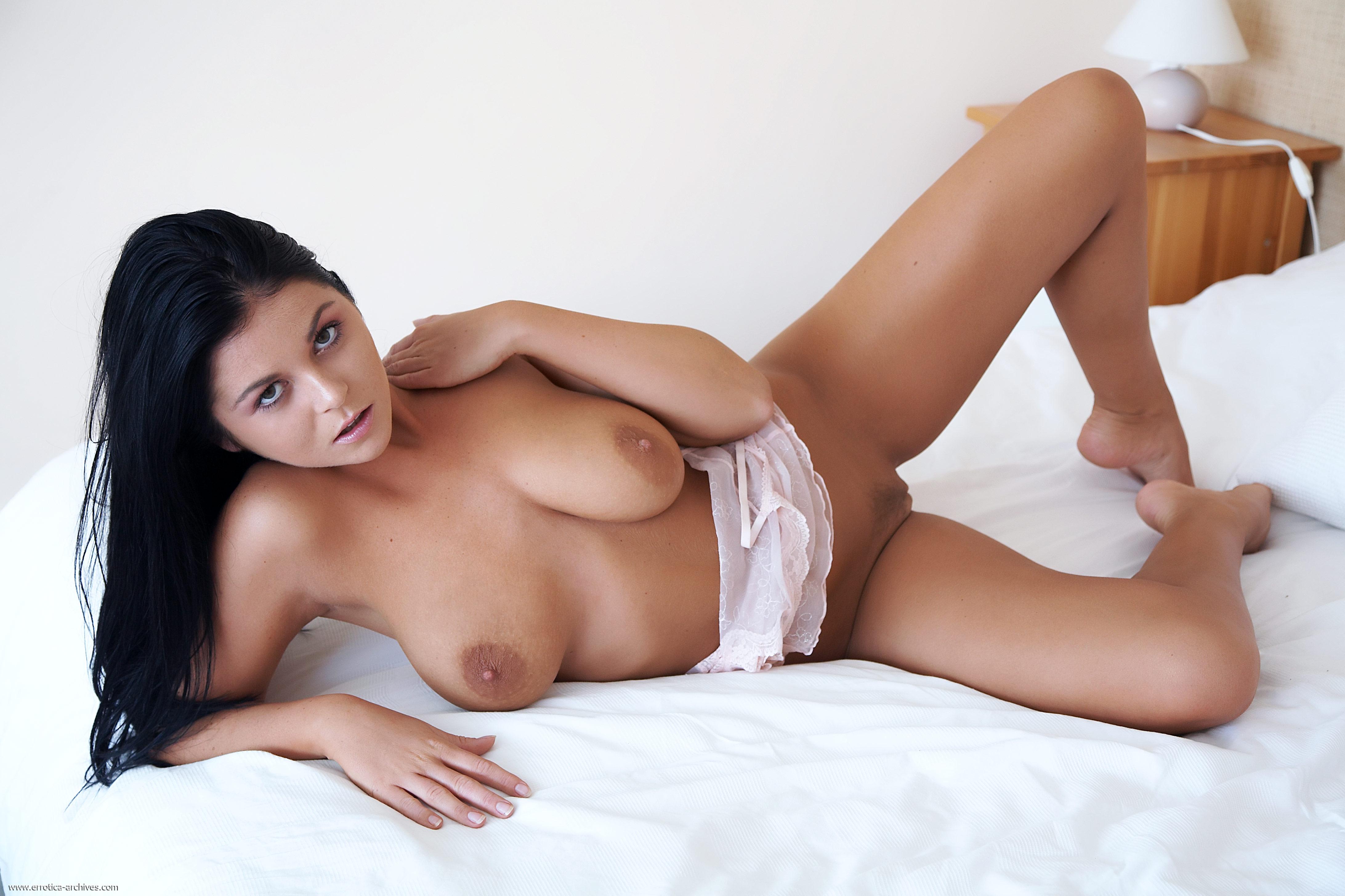large dark nipples