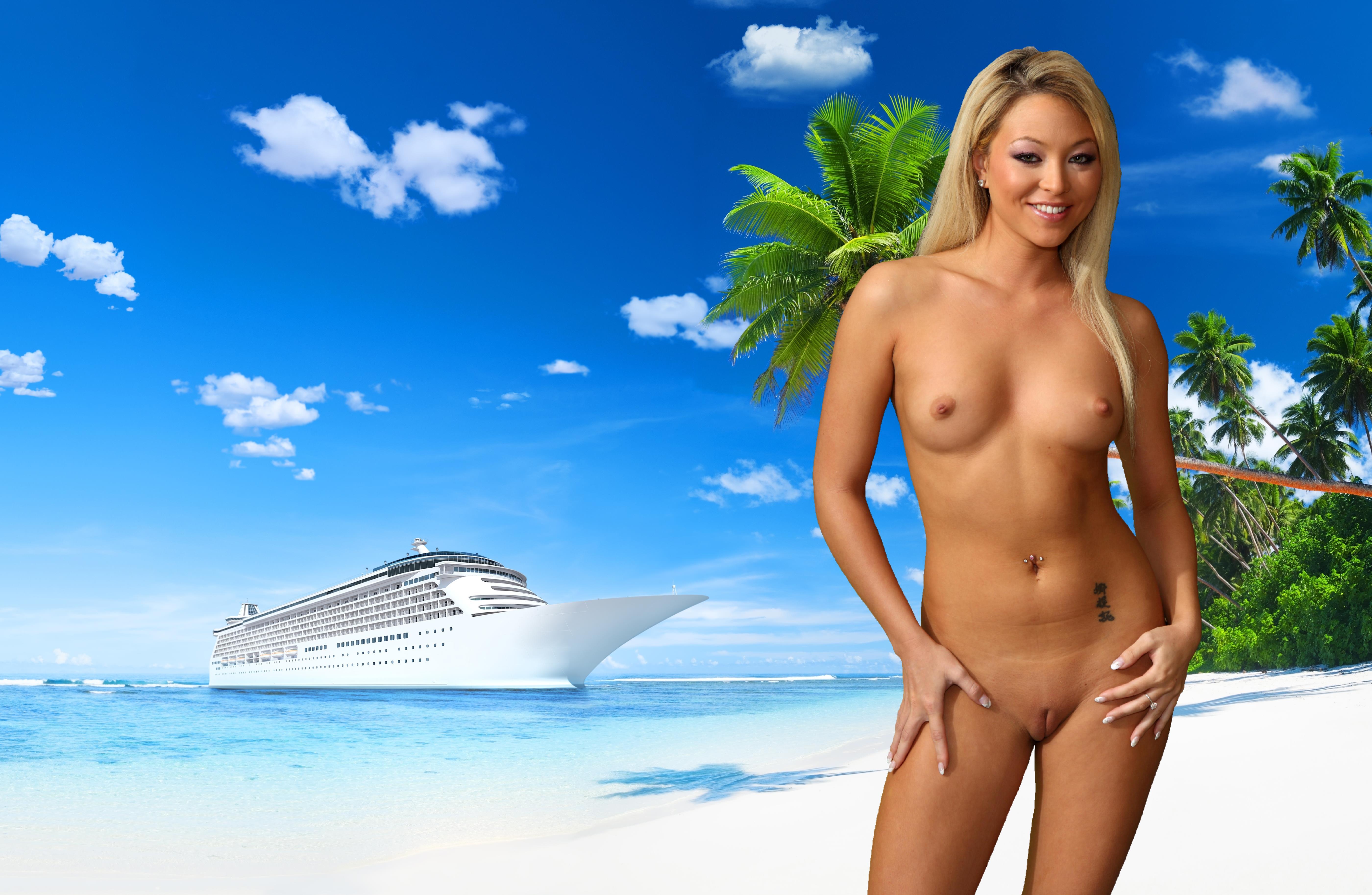 naked on cruise ship