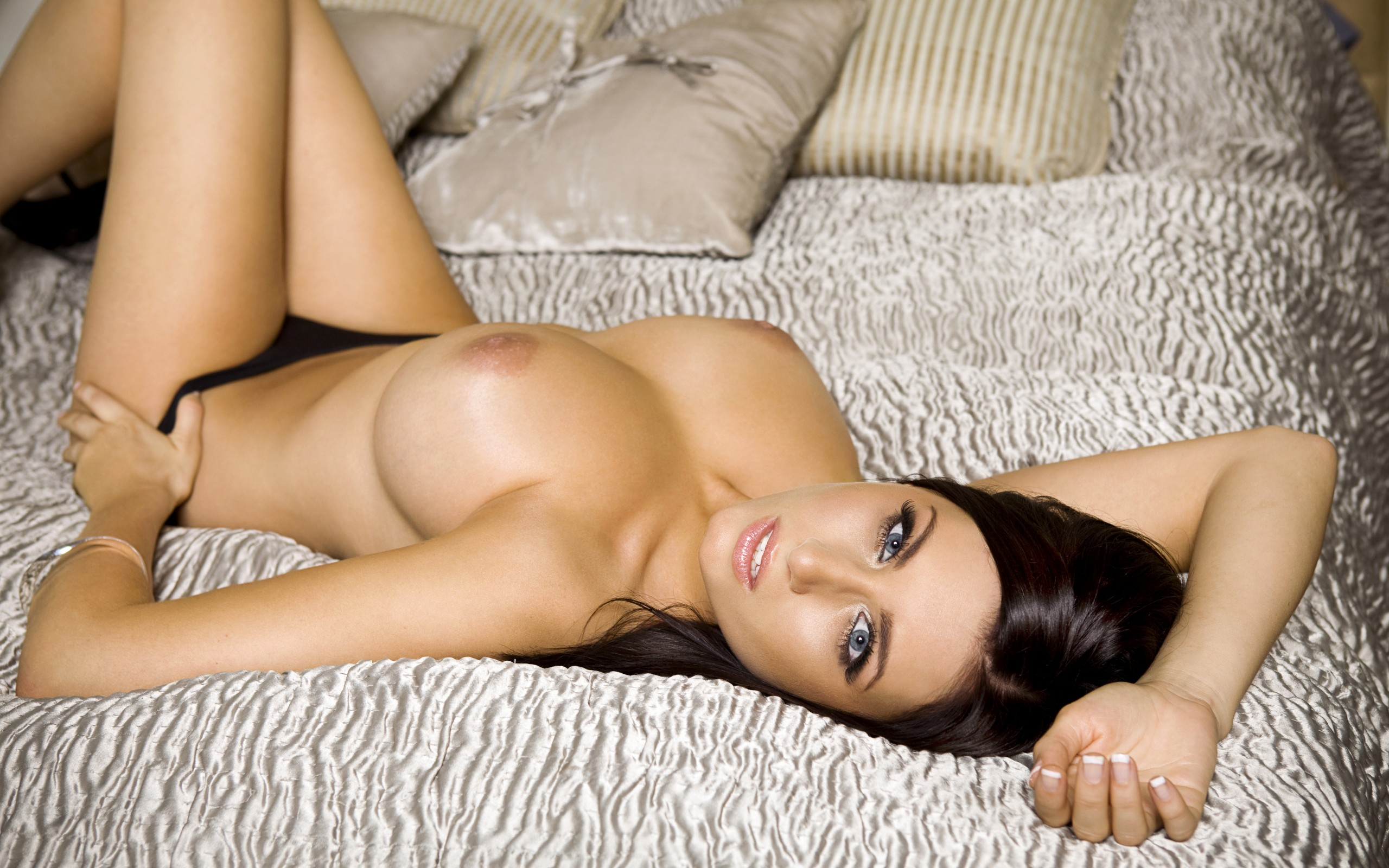 Big breast brunette