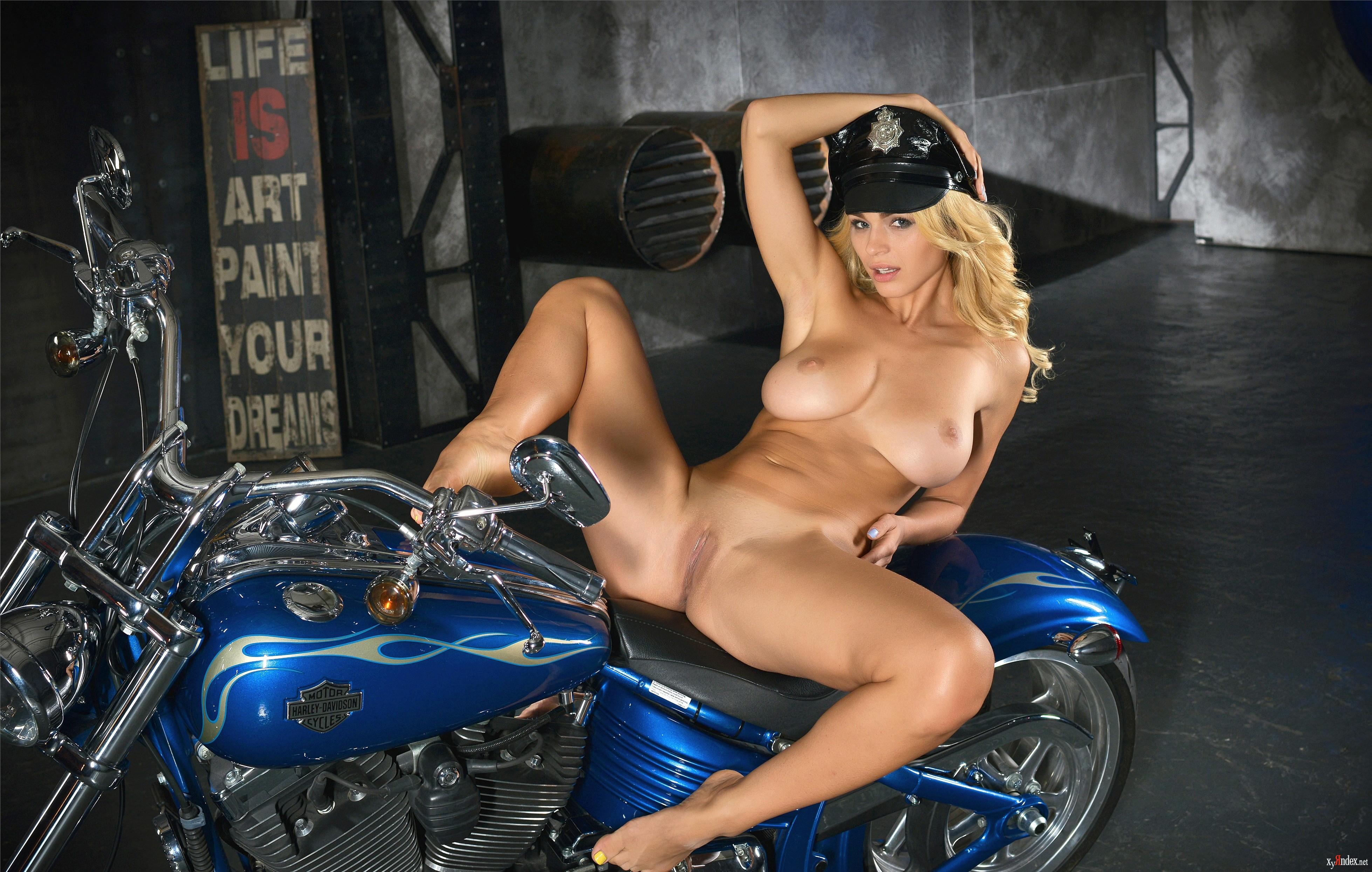 biker boobs