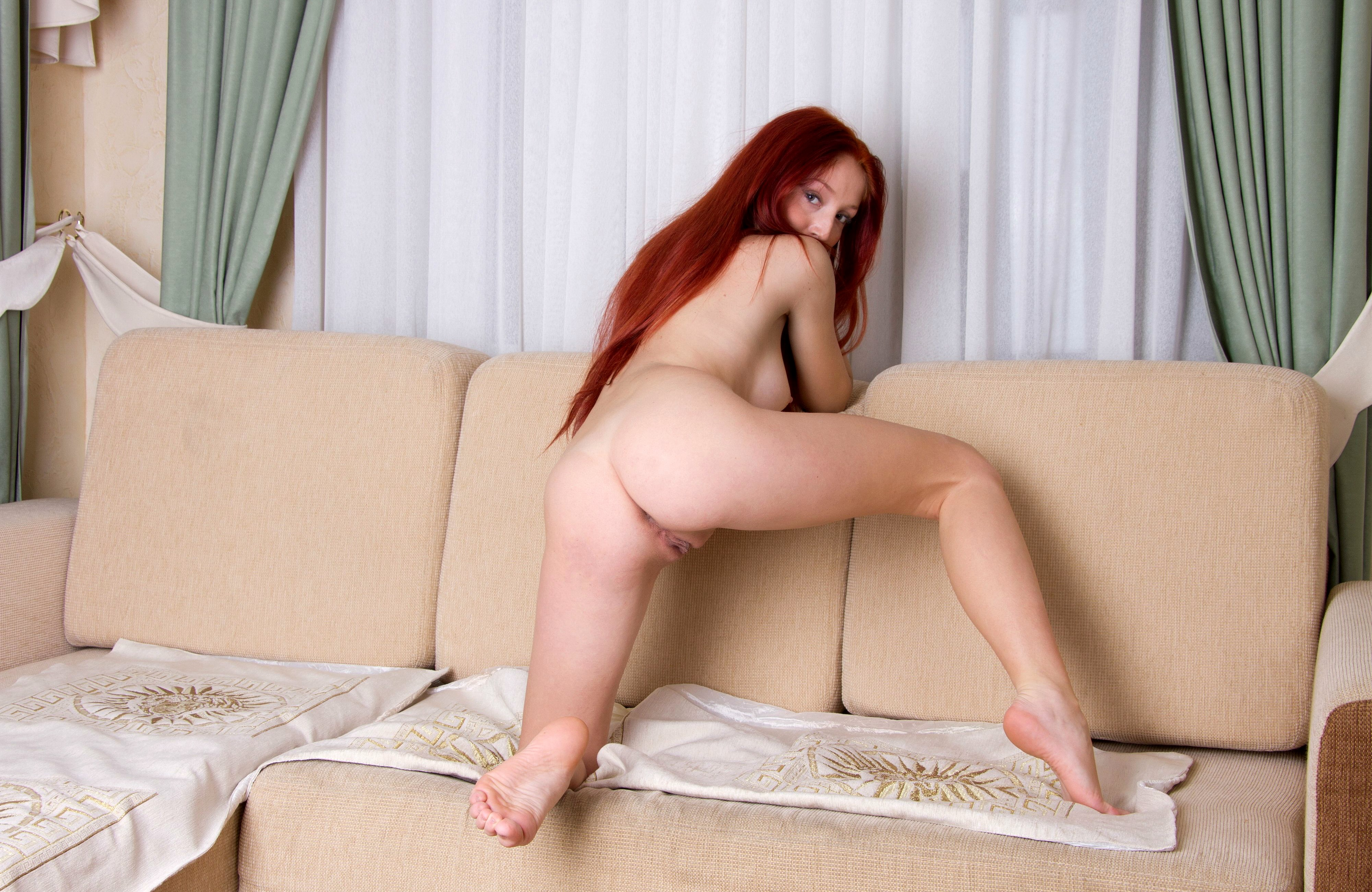 Red foxy girl nude commit