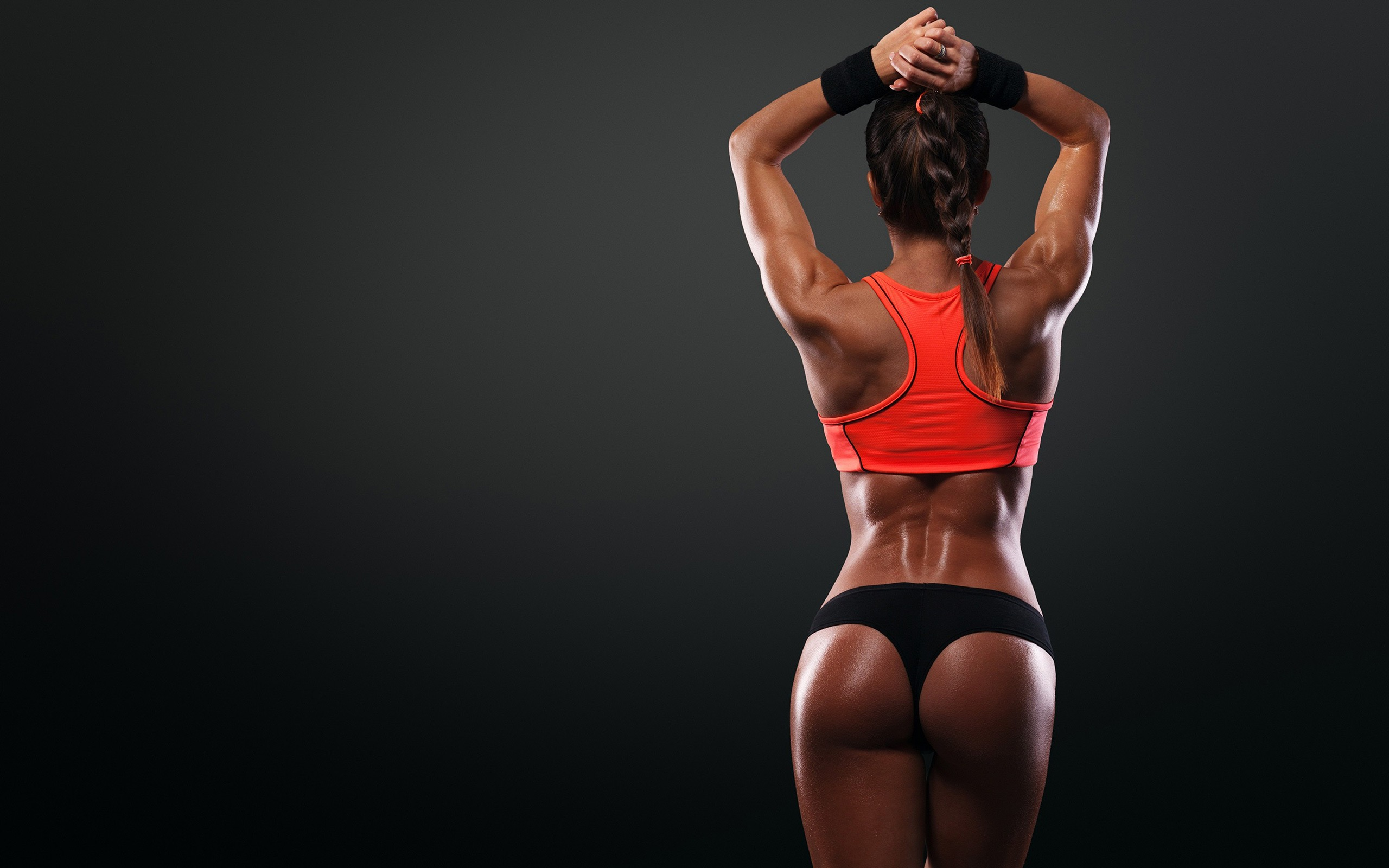 Download photo 1280x800, sexy, gym, girl, showing, onion ...