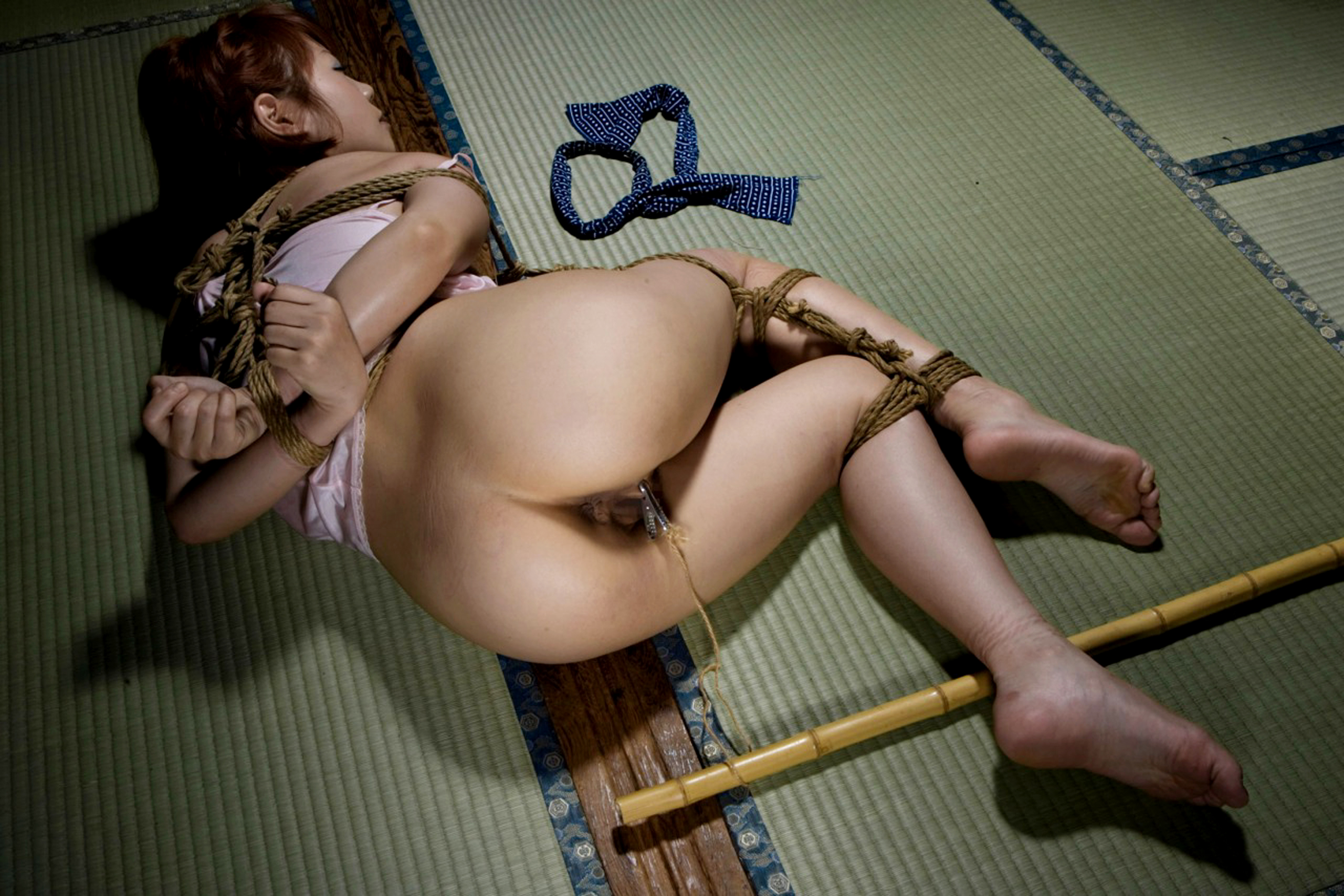 Asian girl bondage fetish