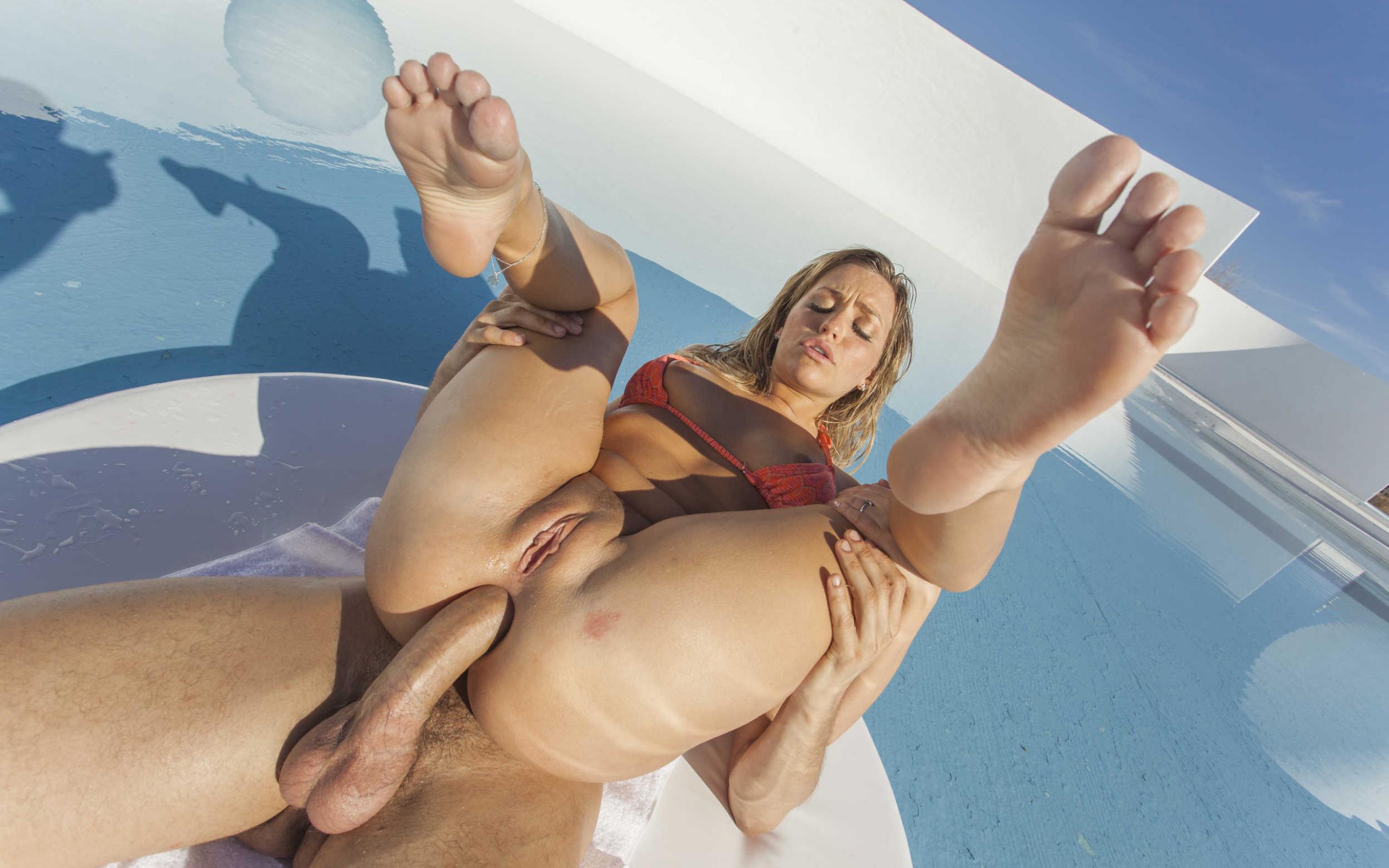 Pity, that Sexy greek girl footjob where