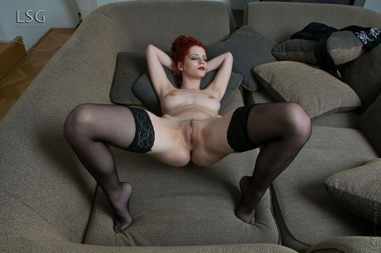 Wallpaper Ariel, Redhead, Tippy Toes, Pussy, Natural, Tits -9319