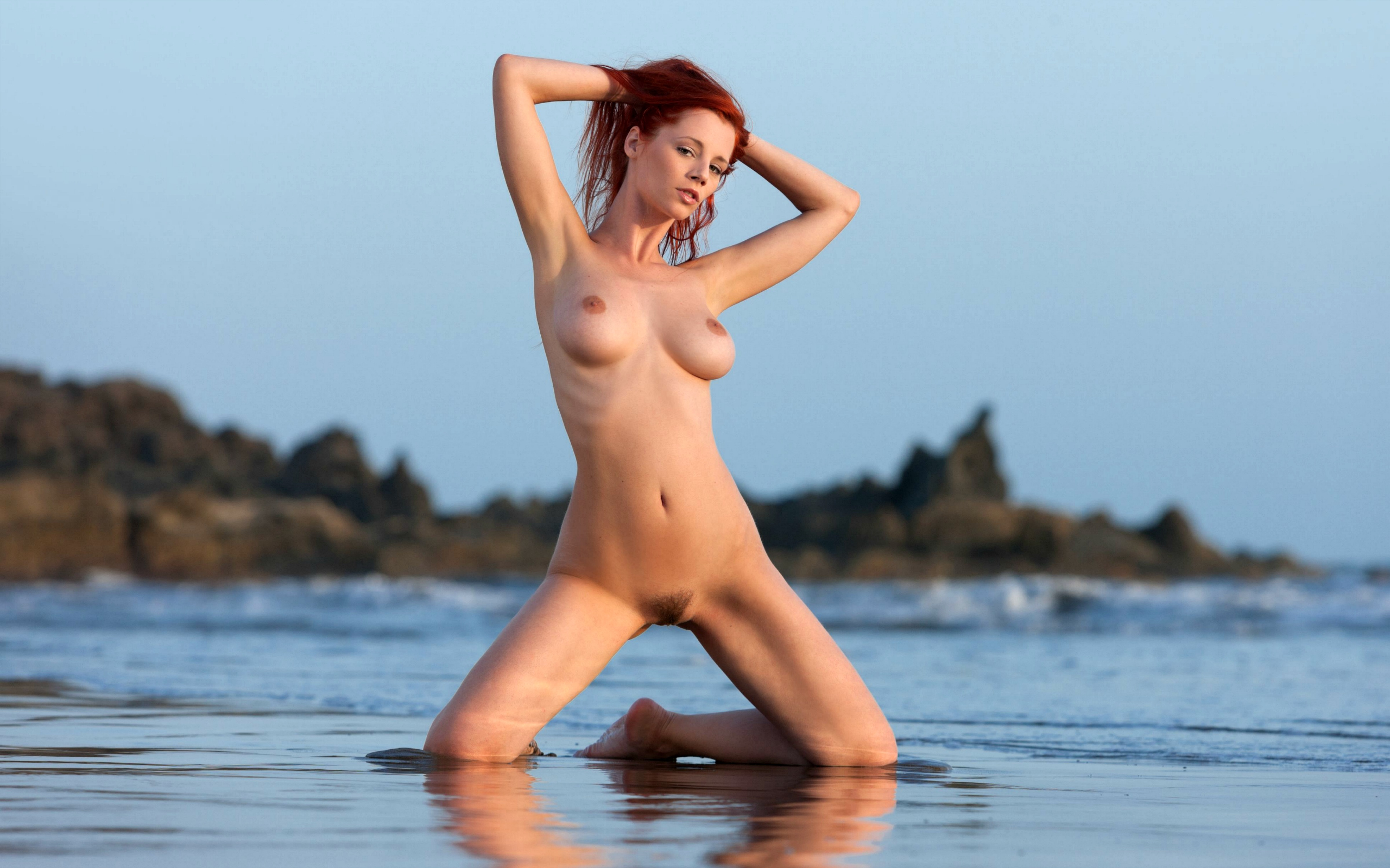 Opinion, interesting beach nude with legs apart join
