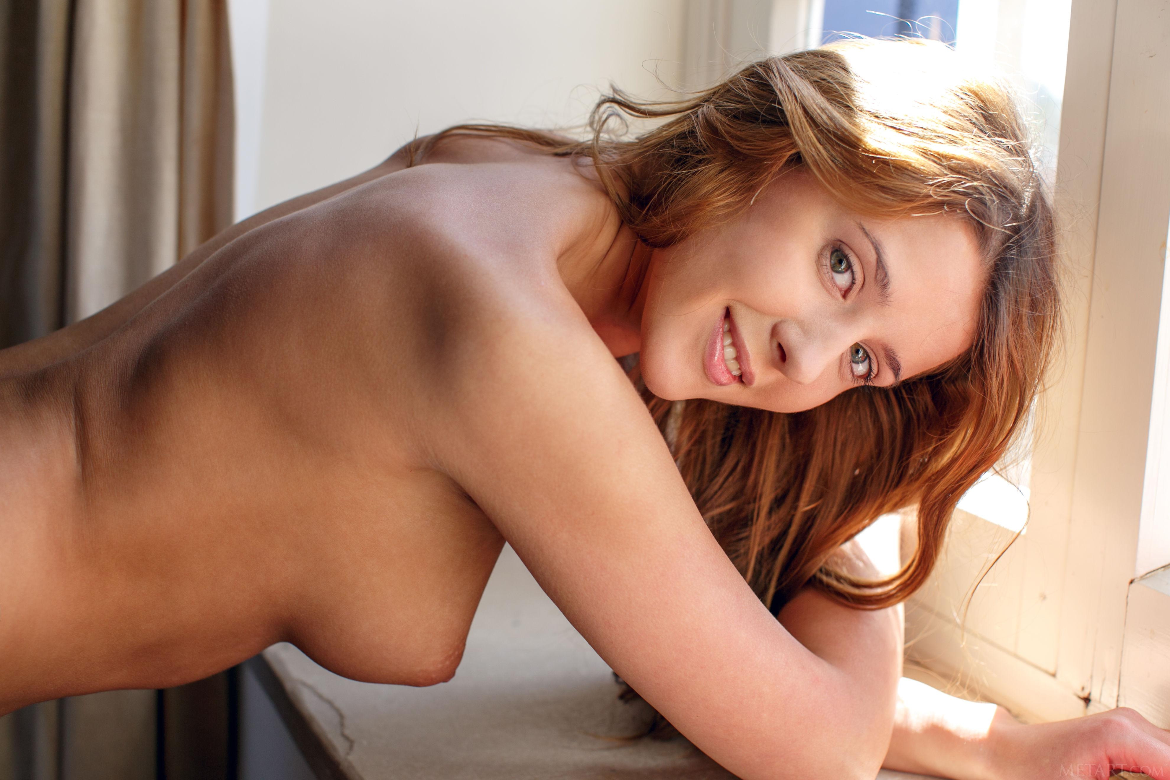 Wallpaper Model, Natural, Boobs, Tits, Sybil A, Redhead -5037