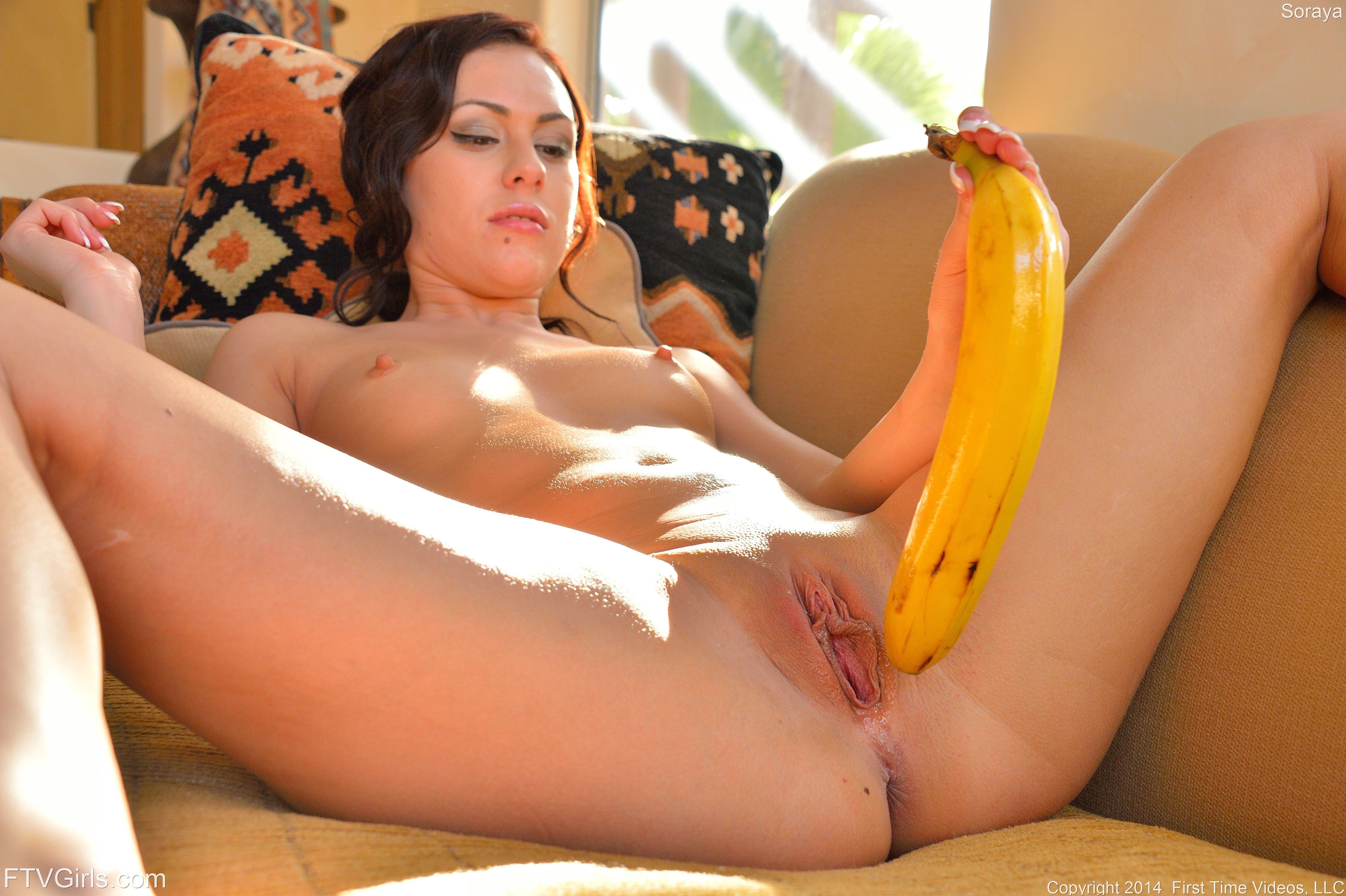 For that Girls having sex with banana