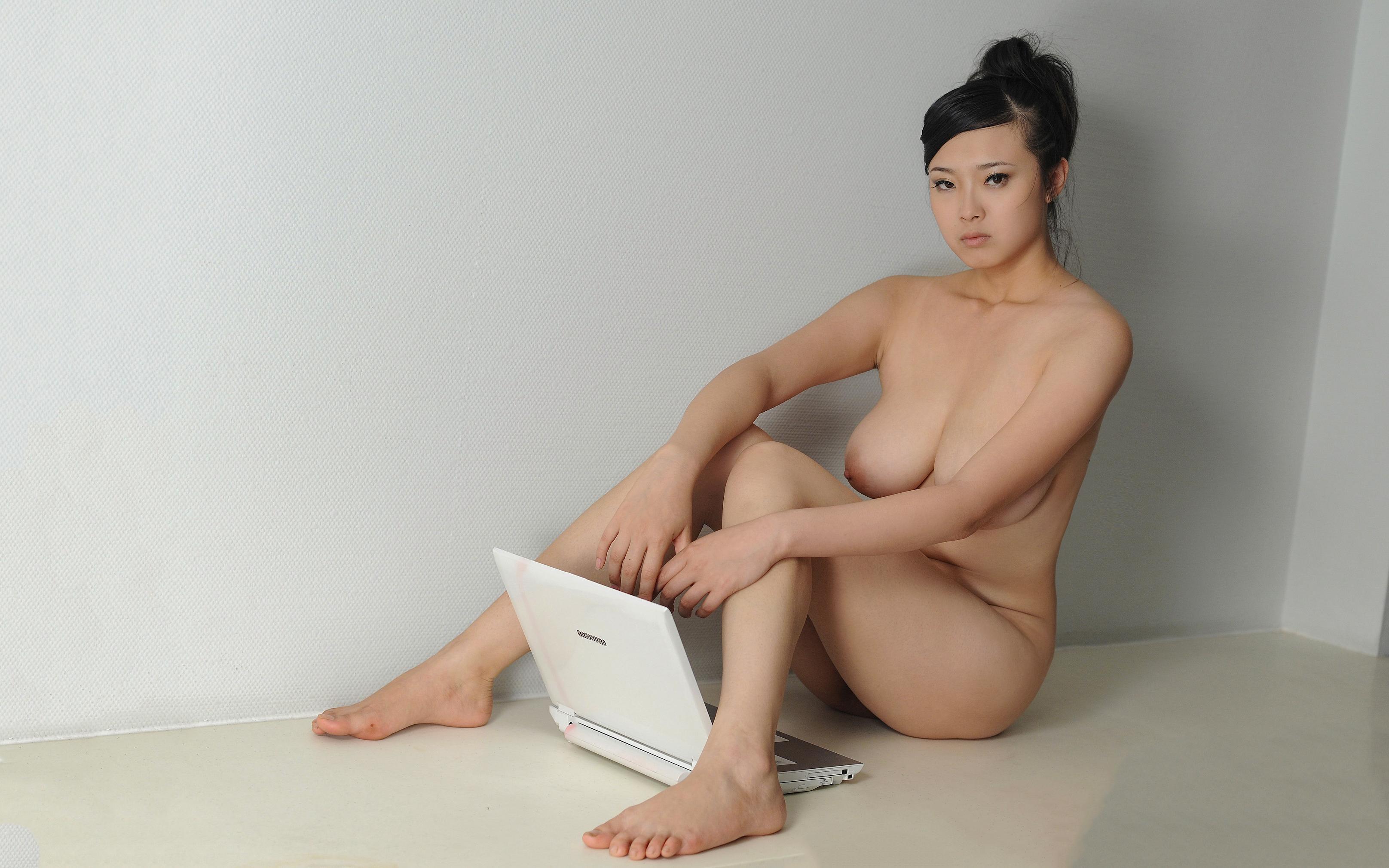 Wallpaper Fei Fei, Asian, Teen, Nude, Big Tits, Tits -9370