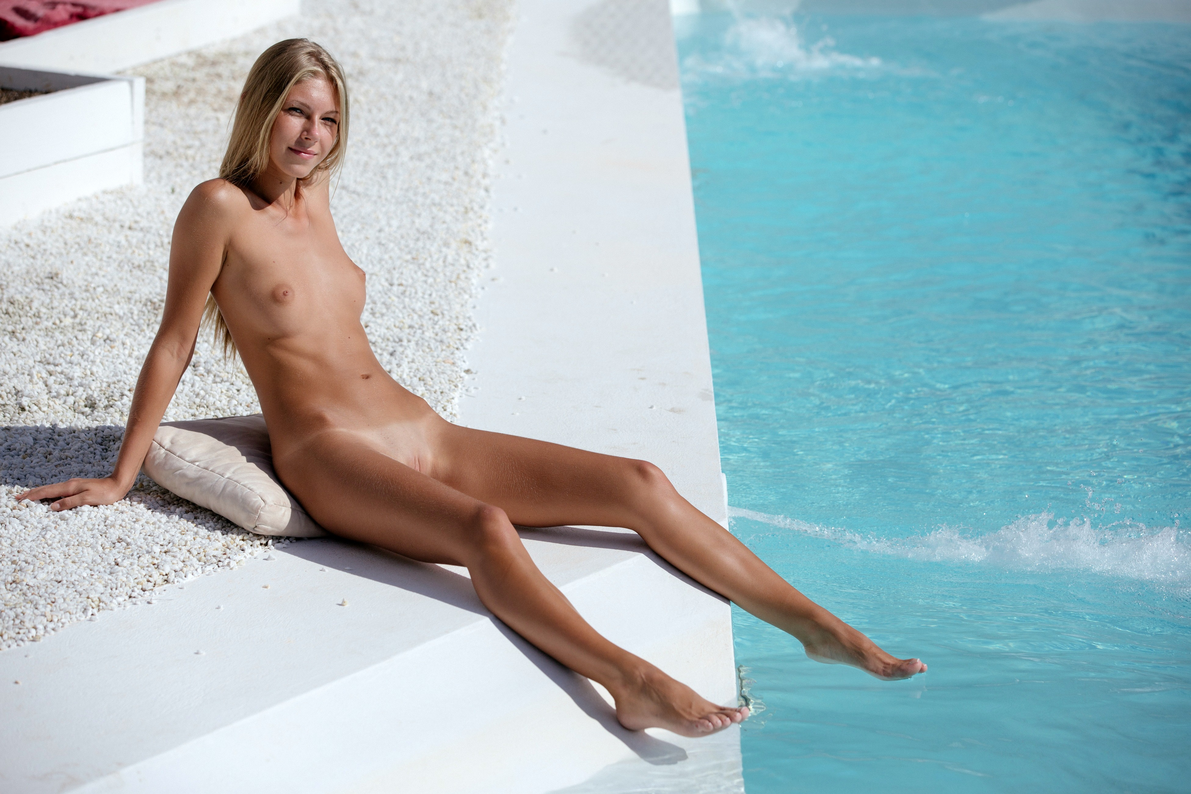 from Boone naked women tan by pool
