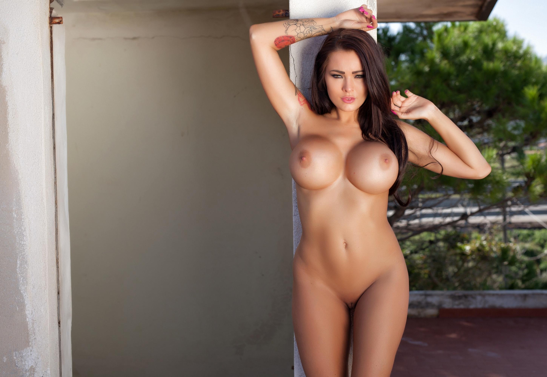 Download photo 1920x1080, hot, sexy, boobs, model, tattoo ...