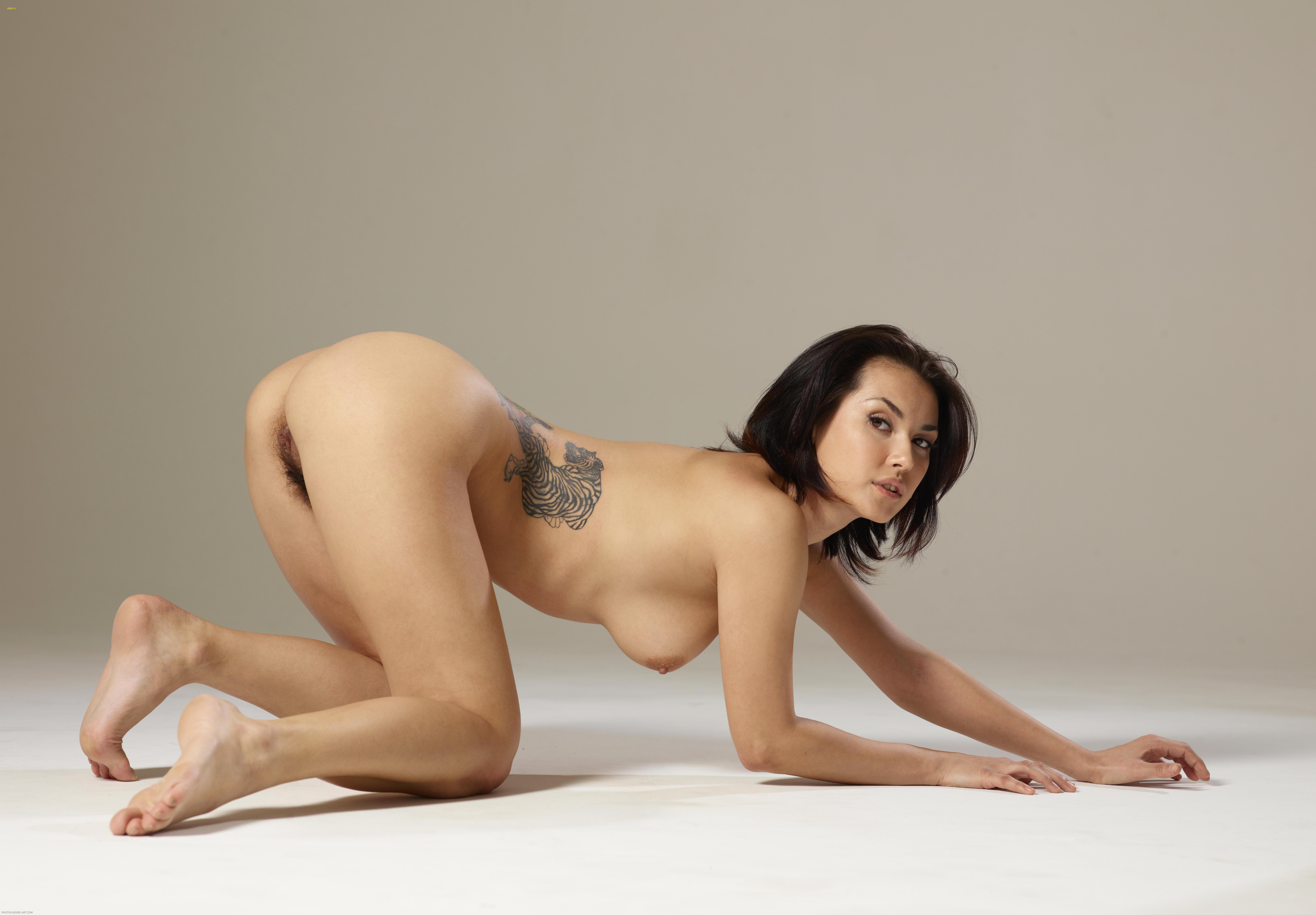 Retro nudist women