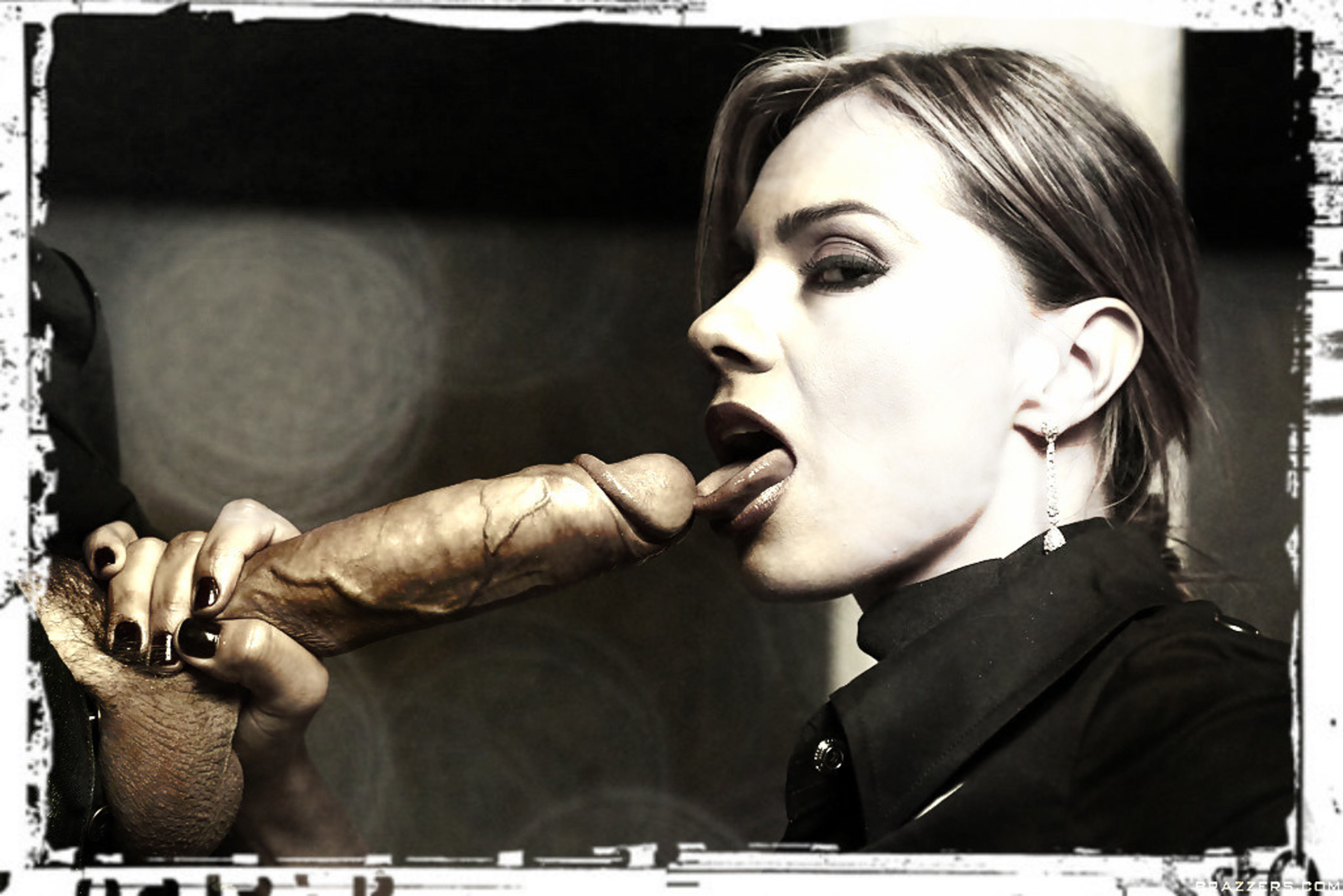 Big dick erotic art blowjob