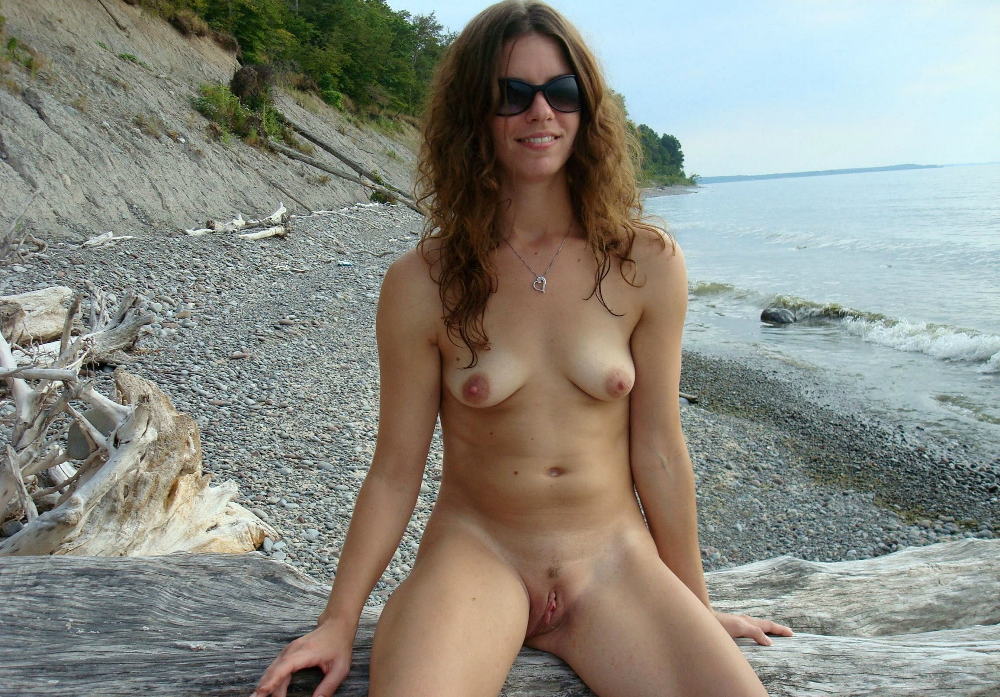 Nudist beach pussy not that