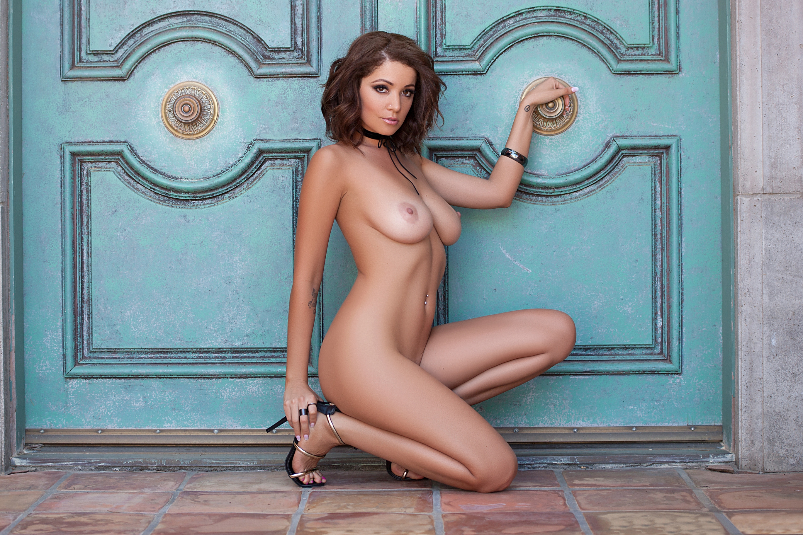 Wallpaper Ali Rose, Sexy Girl, Adult Model, Nude, Naked -5334