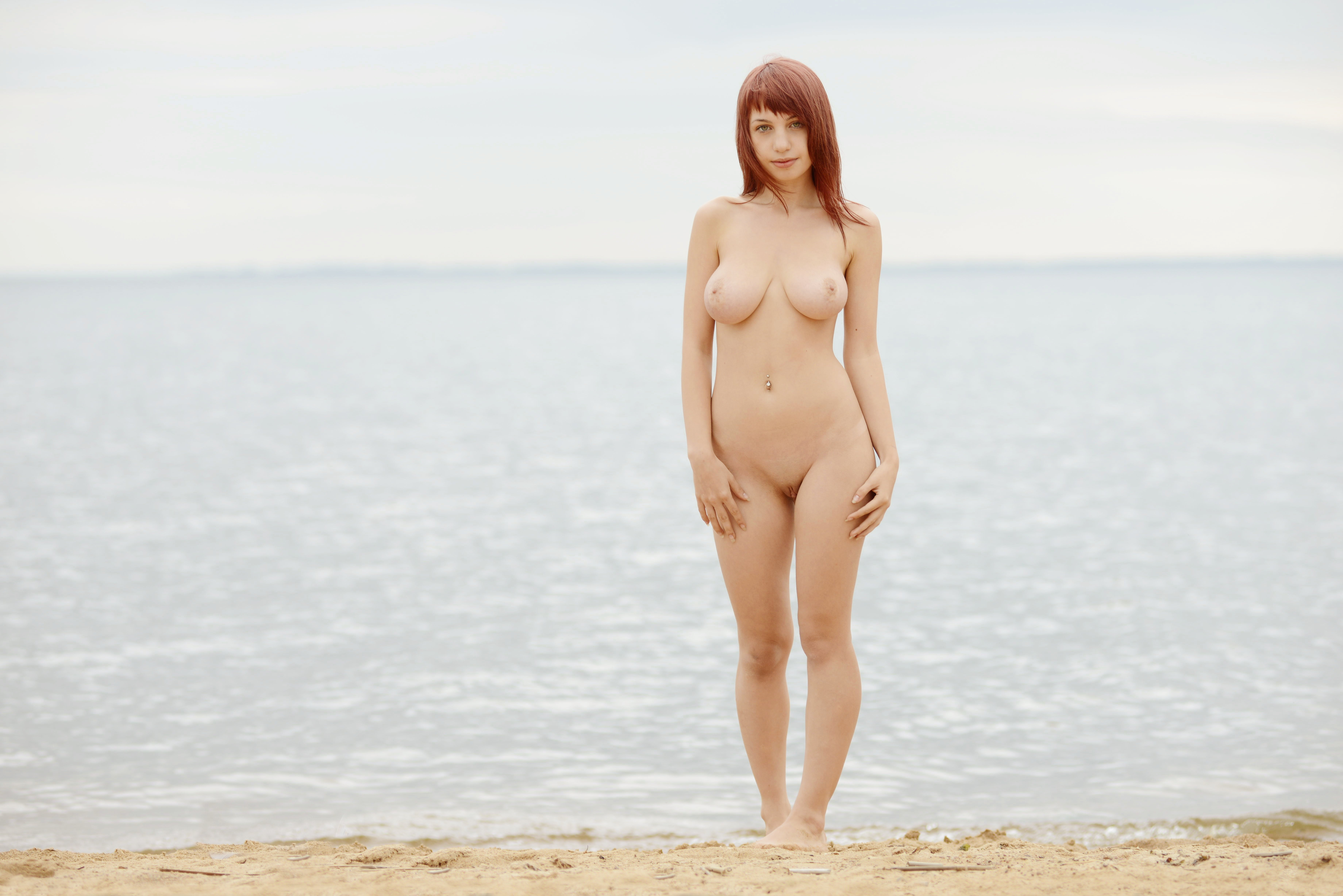 adult nude red head