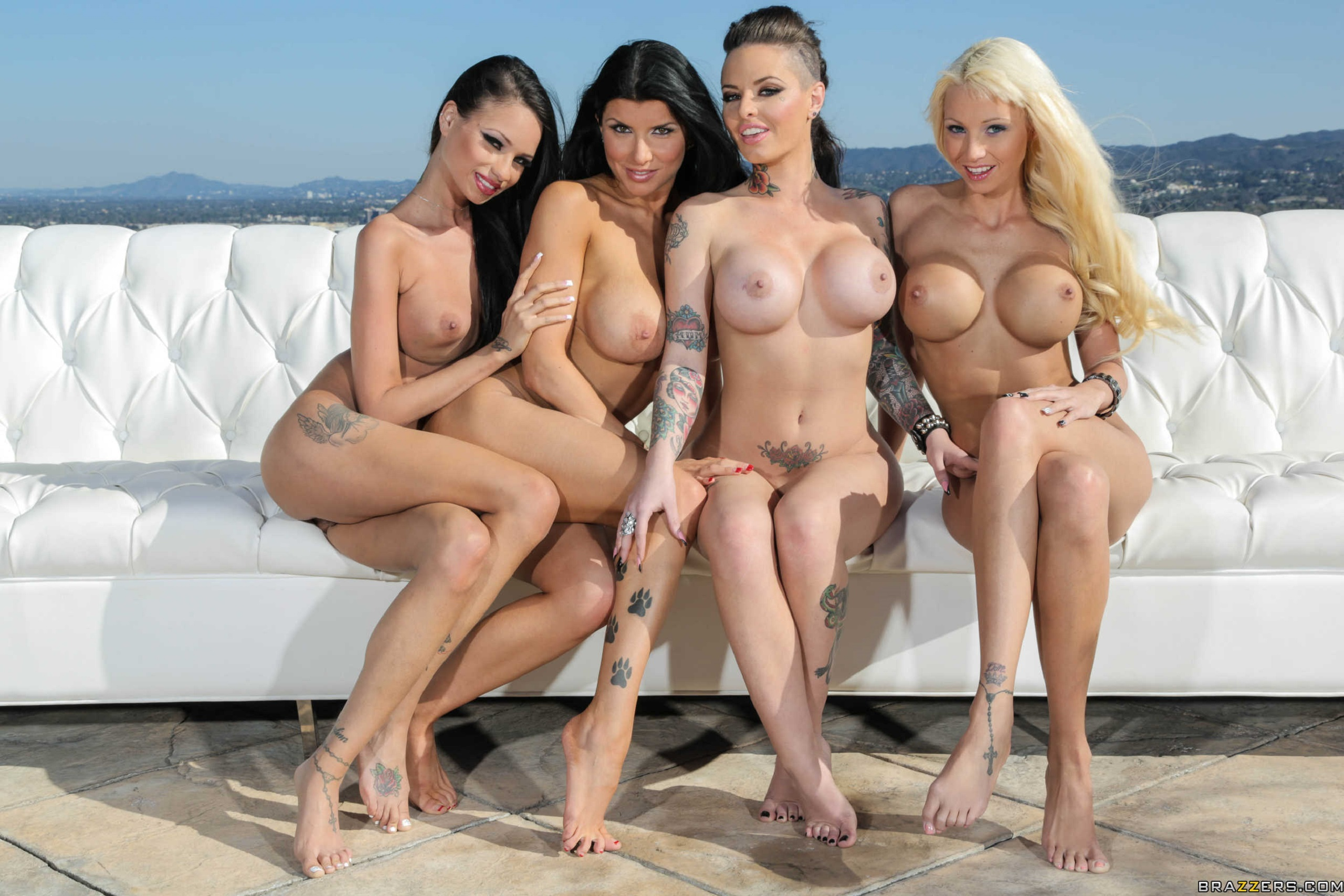 Download Photo 1920X1080, Rikki Six, Romi Rain, Raven Bay -1028