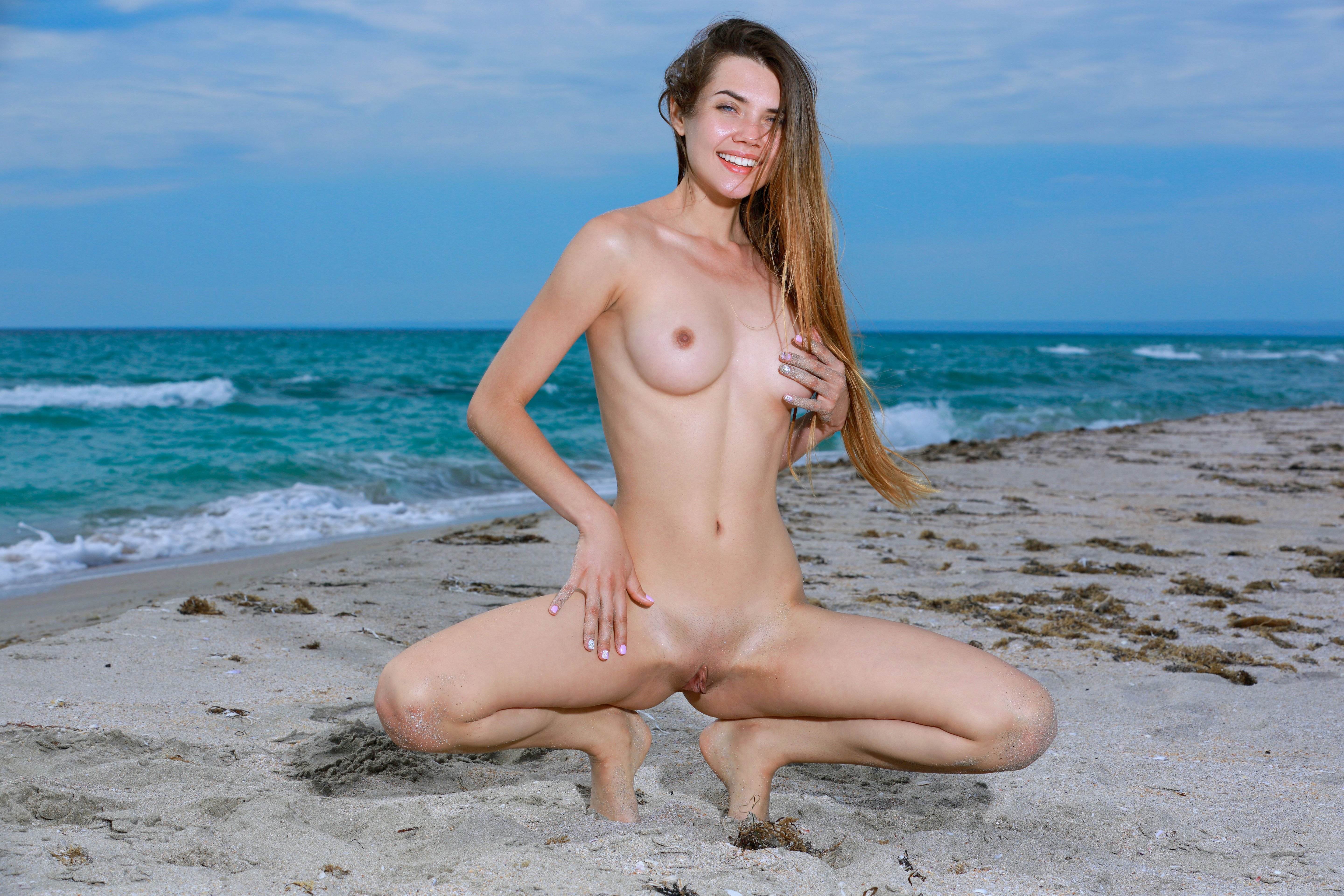 Agree, beach nude with legs apart seems me