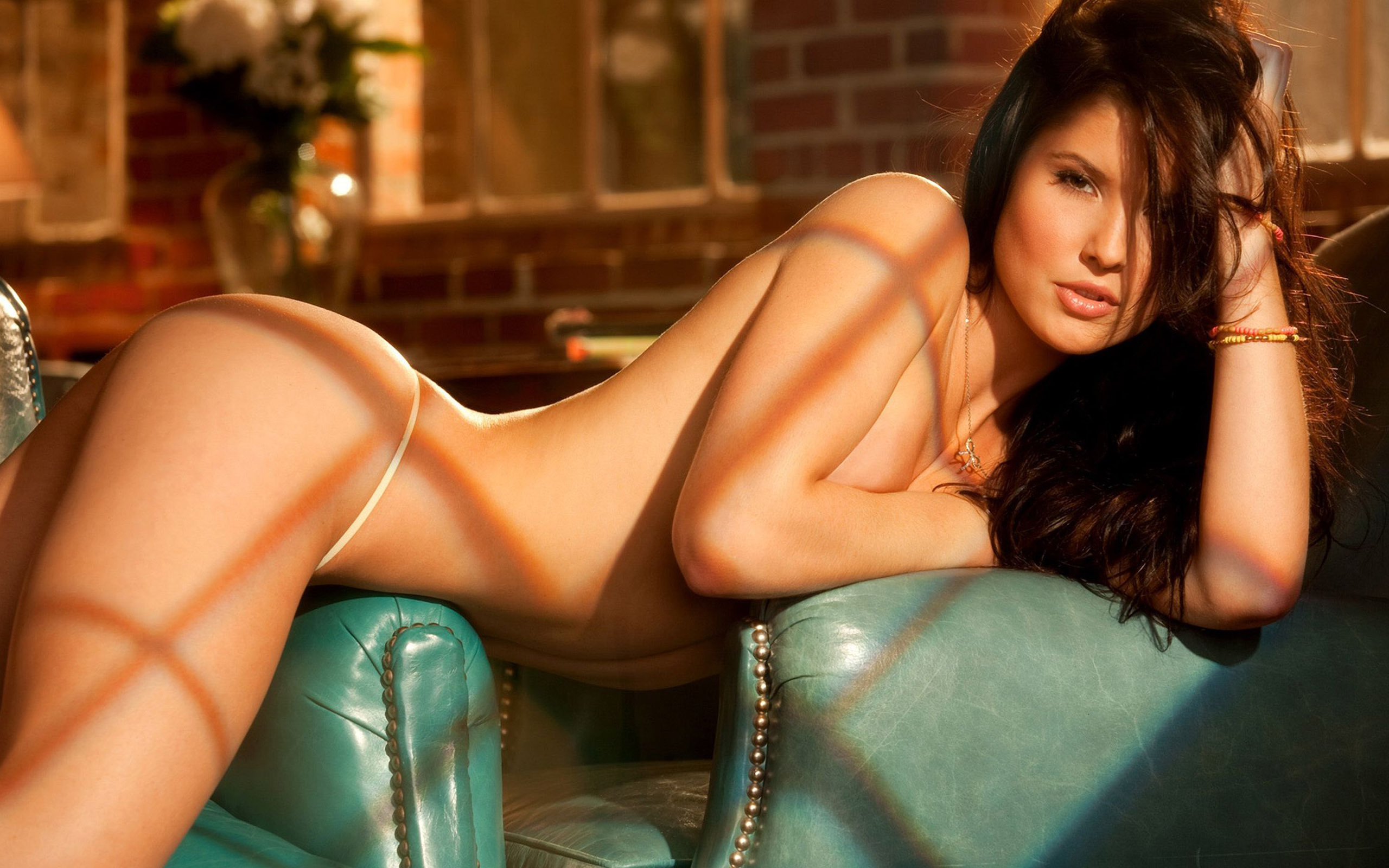 Amanda Cerny Fucking Video wallpaper model, brunette, couch, amanda cerny, ass, tanned