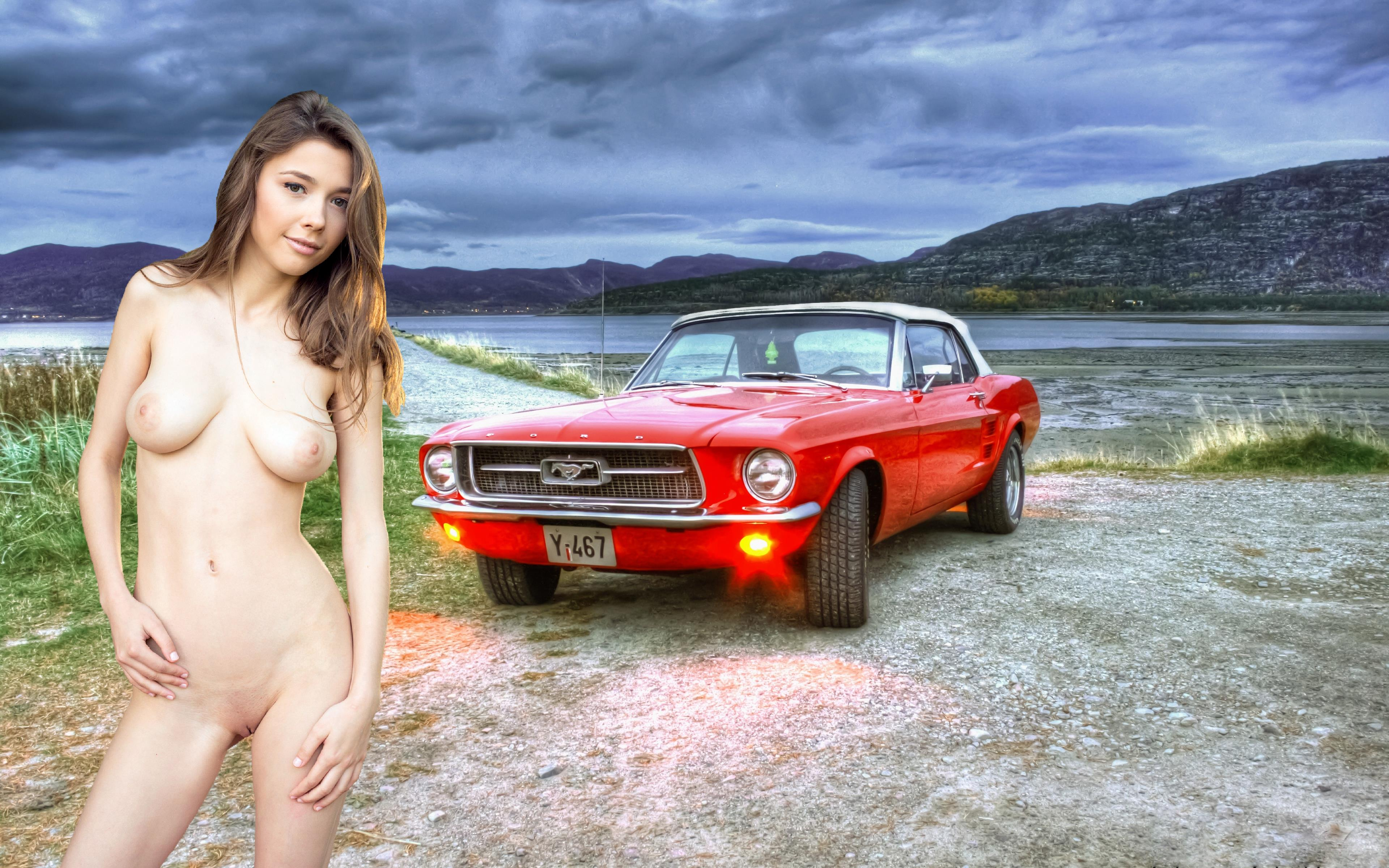 Sally Mustang Nude