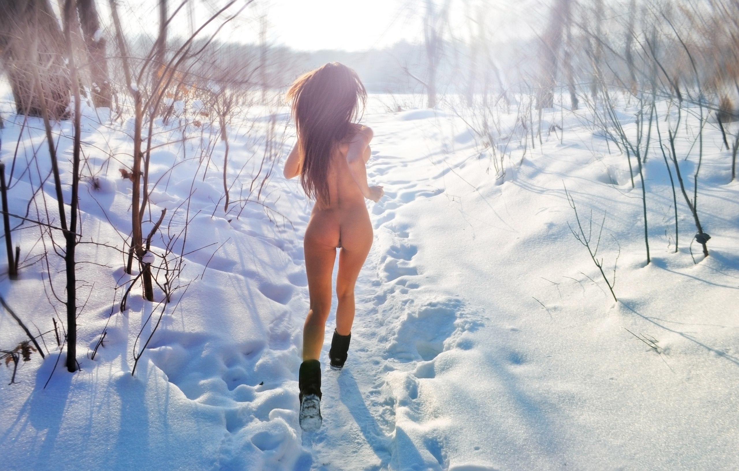 Sexy in the snow