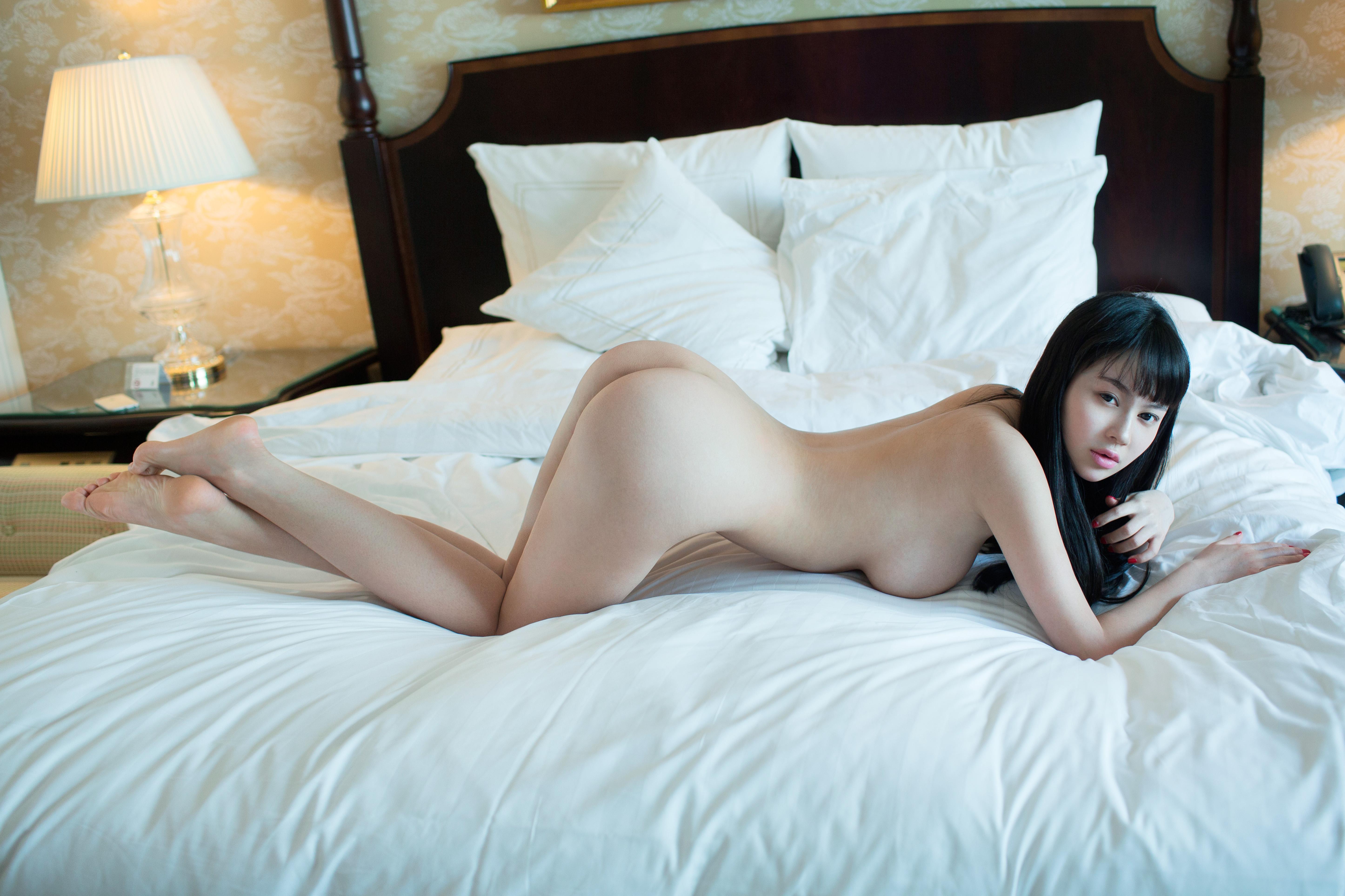 Wallpaper side, boobs, ass, asian, hot, nude, naked, sexy, hu yun er, doggy desktop ...