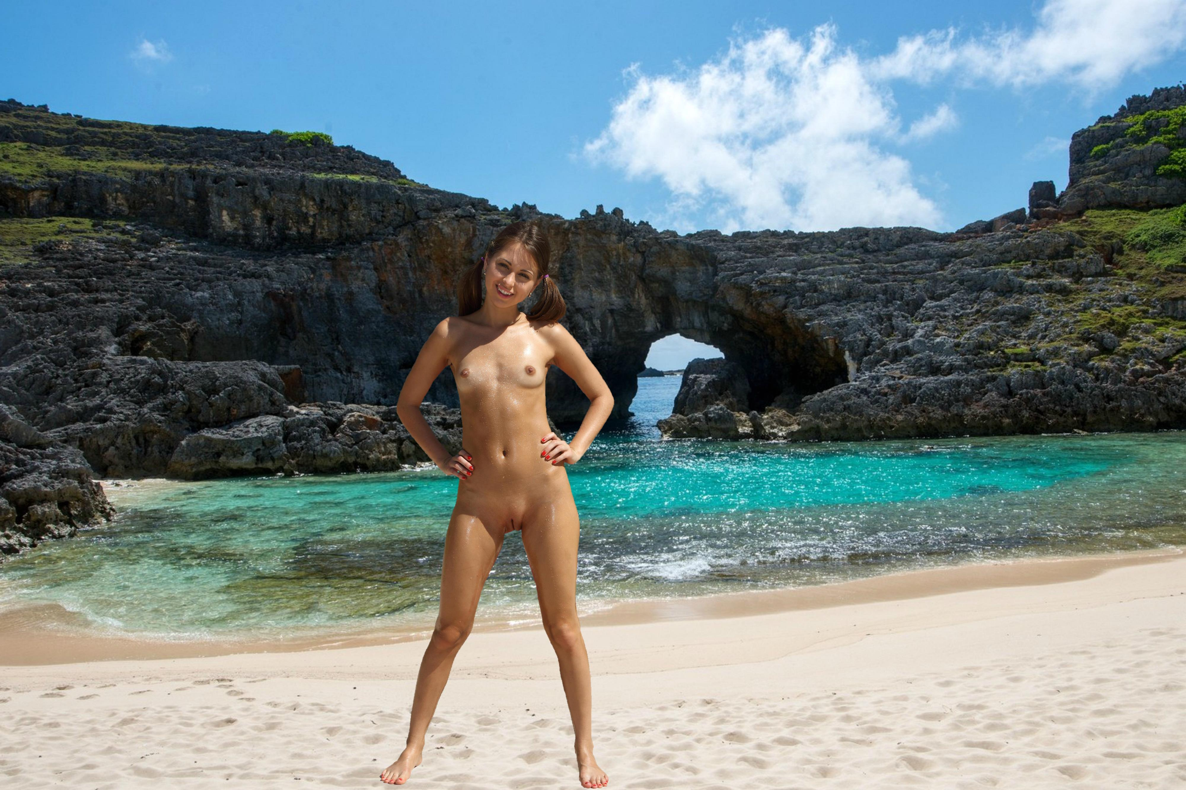 Download photo 4000x2667, riley reed, brunette, beach ...
