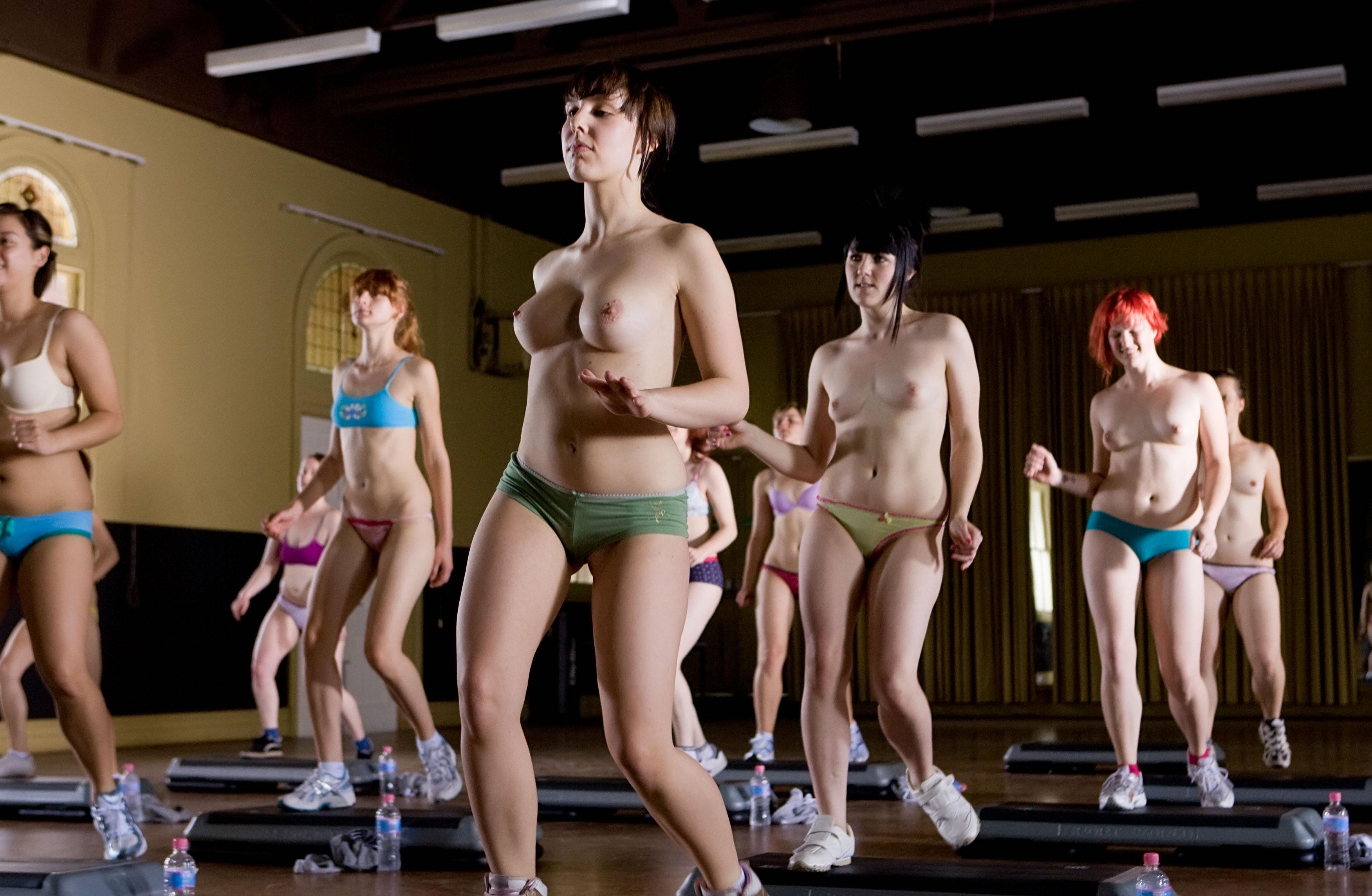 Naked exercise