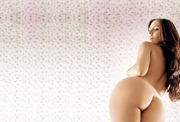 brunette, ass