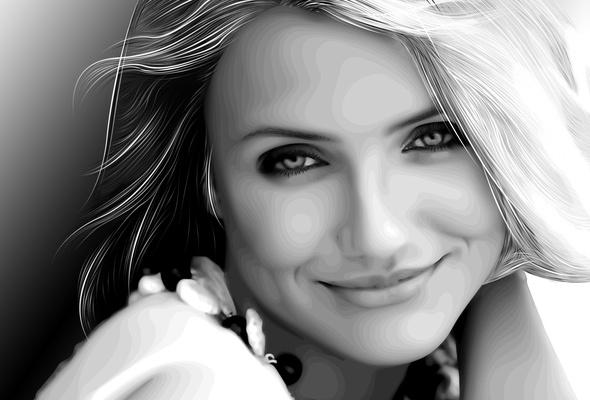 cameron diaz, actress, smile, blonde