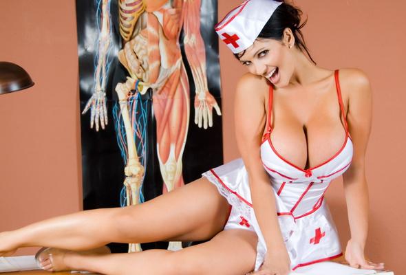 Порно фото медсестер в униформе