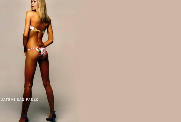 blonde, lingerie, ass, long legs, swimsuit, ana beatriz barros, model