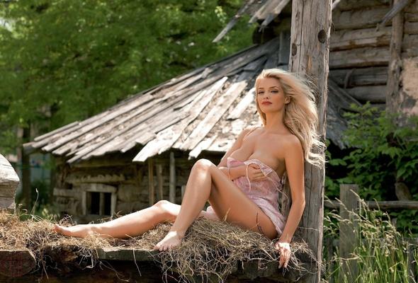 Красивые девушки фото ню россия