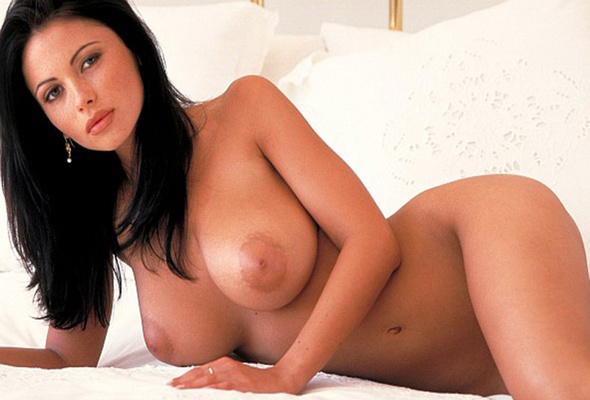 nude, titts, brunette, big boobs, veronica zemanova, big tits