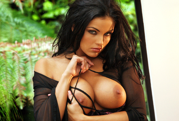 Sexy brunettes with big tits