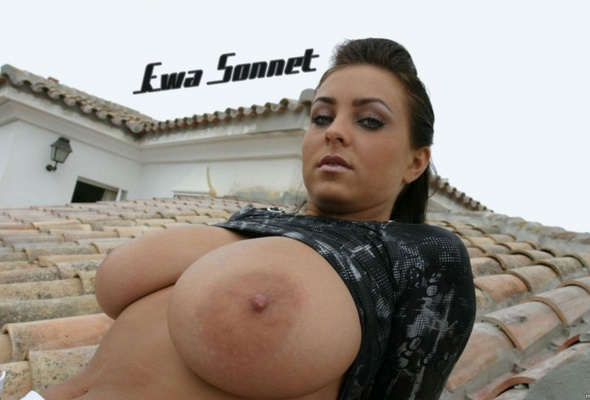 Ewa sonnet tits video, slut creampie slut load