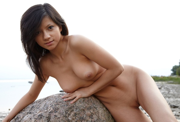 Young cute nude