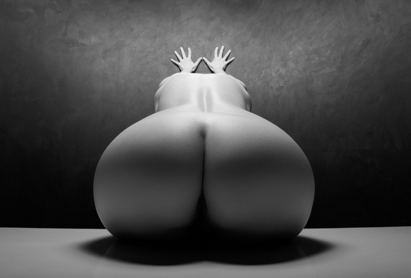 Black and white erotic wallpaper