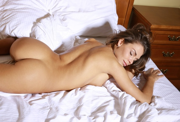 sleeping naked girls butts Cute