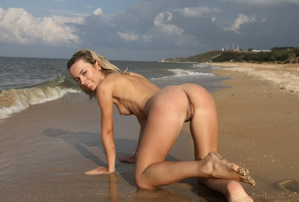 Interesting. Biggest butt at nude beach think
